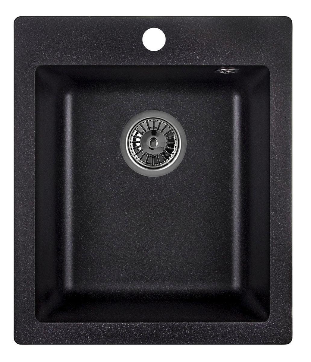 Мойка Weissgauff Quadro 420 Eco Granit, цвет: черный, 41,5 х 19,5 х 49,0 см306169Гранитные мойки Weissgauff Eco Granit – классическая коллекция моек, изготовленных из специально подобранных композитных материалов , содержащих оптимальное сочетание 80% каменной массы высокого качества и 20% связующих материалов. Оригинальный и функциональный дизайн - технология изготовления позволяет создавать любые цвета и формы, оптимальные для современных кухонь. Мойки Weissgauff легко подобрать к интерьеру любой кухни, для разных цветов и форм столешниц Влагостойкость - отталкивание влаги – одна из примечательных особенностей моек из искусственного камня за счет связующих композитных материалов, которые продлевают их срок службы и способствуют сохранению первоначального вида Термостойкость - подвергая мойки воздействию высоких температур, например, различными горячими жидкостями, будьте уверенны, что мойки Weissgauff – эталон стойкости и качества, так как они устойчивы к перепаду температур. Специальный состав моек Weisgauff избавляет от проблемы...