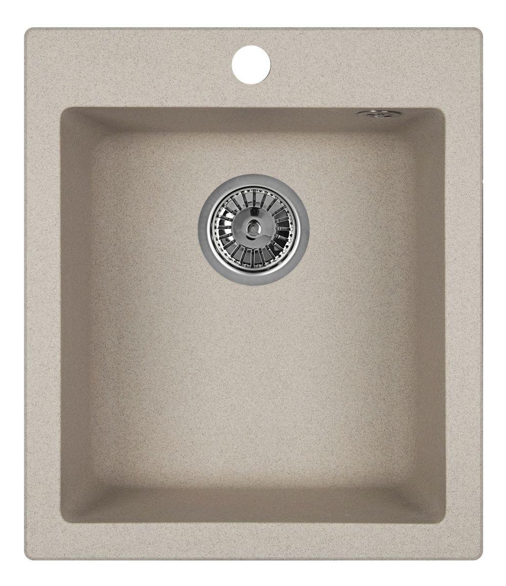 Мойка Weissgauff Quadro 420 Eco Granit, цвет: серый беж, 41,5 х 19,5 х 49,0 см306174Гранитные мойки Weissgauff Eco Granit – классическая коллекция моек, изготовленных из специально подобранных композитных материалов , содержащих оптимальное сочетание 80% каменной массы высокого качества и 20% связующих материалов. Оригинальный и функциональный дизайн - технология изготовления позволяет создавать любые цвета и формы, оптимальные для современных кухонь. Мойки Weissgauff легко подобрать к интерьеру любой кухни, для разных цветов и форм столешниц Влагостойкость - отталкивание влаги – одна из примечательных особенностей моек из искусственного камня за счет связующих композитных материалов, которые продлевают их срок службы и способствуют сохранению первоначального вида Термостойкость - подвергая мойки воздействию высоких температур, например, различными горячими жидкостями, будьте уверенны, что мойки Weissgauff – эталон стойкости и качества, так как они устойчивы к перепаду температур. Специальный состав моек Weisgauff избавляет от проблемы...