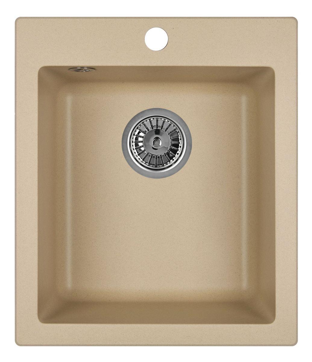 Мойка Weissgauff Quadro 420 Eco Granit, цвет: шампань, 41,5 х 19,5 х 49,0 см306176Гранитные мойки Weissgauff Eco Granit – классическая коллекция моек, изготовленных из специально подобранных композитных материалов , содержащих оптимальное сочетание 80% каменной массы высокого качества и 20% связующих материалов. Оригинальный и функциональный дизайн - технология изготовления позволяет создавать любые цвета и формы, оптимальные для современных кухонь. Мойки Weissgauff легко подобрать к интерьеру любой кухни, для разных цветов и форм столешниц Влагостойкость - отталкивание влаги – одна из примечательных особенностей моек из искусственного камня за счет связующих композитных материалов, которые продлевают их срок службы и способствуют сохранению первоначального вида Термостойкость - подвергая мойки воздействию высоких температур, например, различными горячими жидкостями, будьте уверенны, что мойки Weissgauff – эталон стойкости и качества, так как они устойчивы к перепаду температур. Специальный состав моек Weisgauff избавляет от проблемы...