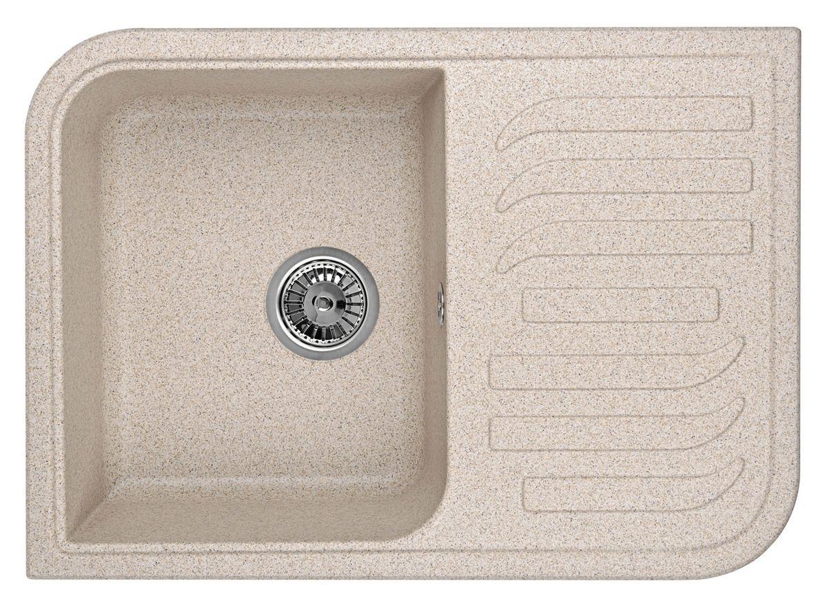 Мойка Weissgauff Softline 695 Eco Granit, цвет: песочный, 69,5 х 18,0 х 49,5 см306221Гранитные мойки Weissgauff Eco Granit – классическая коллекция моек, изготовленных из специально подобранных композитных материалов , содержащих оптимальное сочетание 80% каменной массы высокого качества и 20% связующих материалов. Оригинальный и функциональный дизайн - технология изготовления позволяет создавать любые цвета и формы, оптимальные для современных кухонь. Мойки Weissgauff легко подобрать к интерьеру любой кухни, для разных цветов и форм столешниц Влагостойкость - отталкивание влаги – одна из примечательных особенностей моек из искусственного камня за счет связующих композитных материалов, которые продлевают их срок службы и способствуют сохранению первоначального вида Термостойкость - подвергая мойки воздействию высоких температур, например, различными горячими жидкостями, будьте уверенны, что мойки Weissgauff – эталон стойкости и качества, так как они устойчивы к перепаду температур. Специальный состав моек Weisgauff избавляет от проблемы...