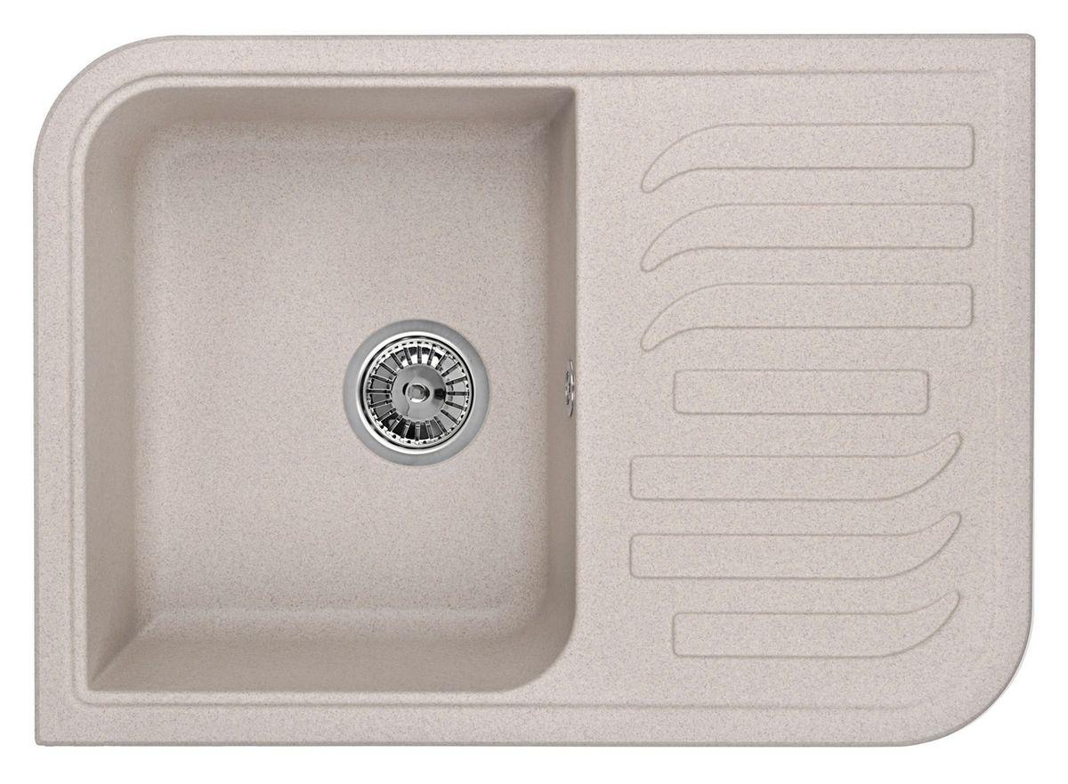 Мойка Weissgauff Softline 695 Eco Granit, цвет: серый беж, 69,5 х 18,0 х 49,5 см306223Гранитные мойки Weissgauff Eco Granit – классическая коллекция моек, изготовленных из специально подобранных композитных материалов , содержащих оптимальное сочетание 80% каменной массы высокого качества и 20% связующих материалов. Оригинальный и функциональный дизайн - технология изготовления позволяет создавать любые цвета и формы, оптимальные для современных кухонь. Мойки Weissgauff легко подобрать к интерьеру любой кухни, для разных цветов и форм столешниц Влагостойкость - отталкивание влаги – одна из примечательных особенностей моек из искусственного камня за счет связующих композитных материалов, которые продлевают их срок службы и способствуют сохранению первоначального вида Термостойкость - подвергая мойки воздействию высоких температур, например, различными горячими жидкостями, будьте уверенны, что мойки Weissgauff – эталон стойкости и качества, так как они устойчивы к перепаду температур. Специальный состав моек Weisgauff избавляет от проблемы...