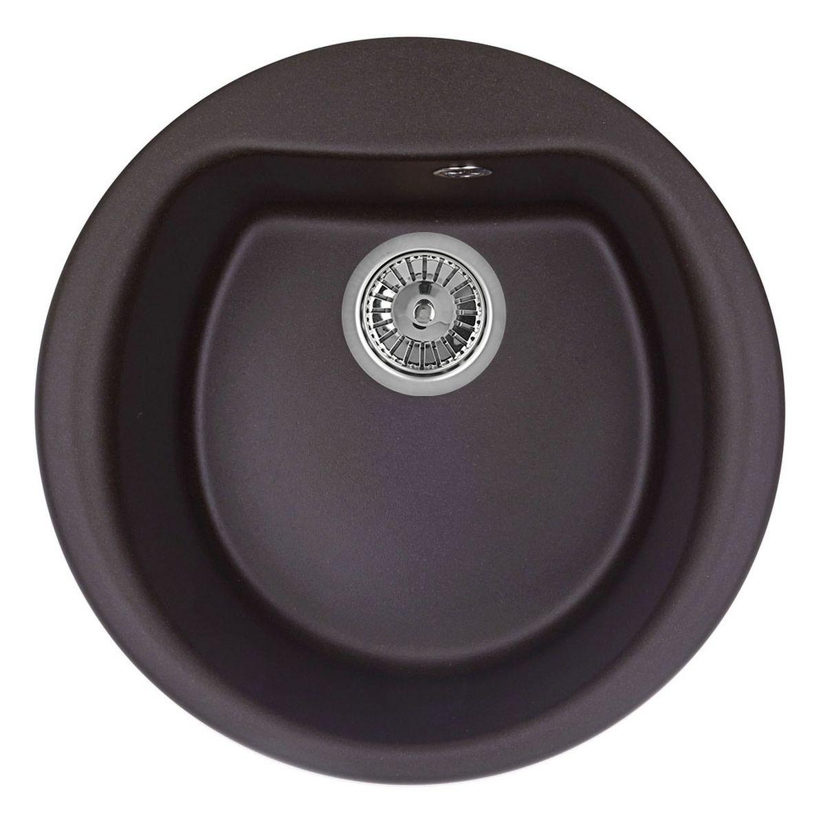 Мойка Weissgauff Rondo 500 Eco Granit, цвет: шоколад, 50,0 х 20,5 х 50,0 см306321Гранитные мойки Weissgauff Eco Granit – классическая коллекция моек, изготовленных из специально подобранных композитных материалов , содержащих оптимальное сочетание 80% каменной массы высокого качества и 20% связующих материалов. Оригинальный и функциональный дизайн - технология изготовления позволяет создавать любые цвета и формы, оптимальные для современных кухонь. Мойки Weissgauff легко подобрать к интерьеру любой кухни, для разных цветов и форм столешниц Влагостойкость - отталкивание влаги – одна из примечательных особенностей моек из искусственного камня за счет связующих композитных материалов, которые продлевают их срок службы и способствуют сохранению первоначального вида Термостойкость - подвергая мойки воздействию высоких температур, например, различными горячими жидкостями, будьте уверенны, что мойки Weissgauff – эталон стойкости и качества, так как они устойчивы к перепаду температур. Специальный состав моек Weisgauff избавляет от проблемы...