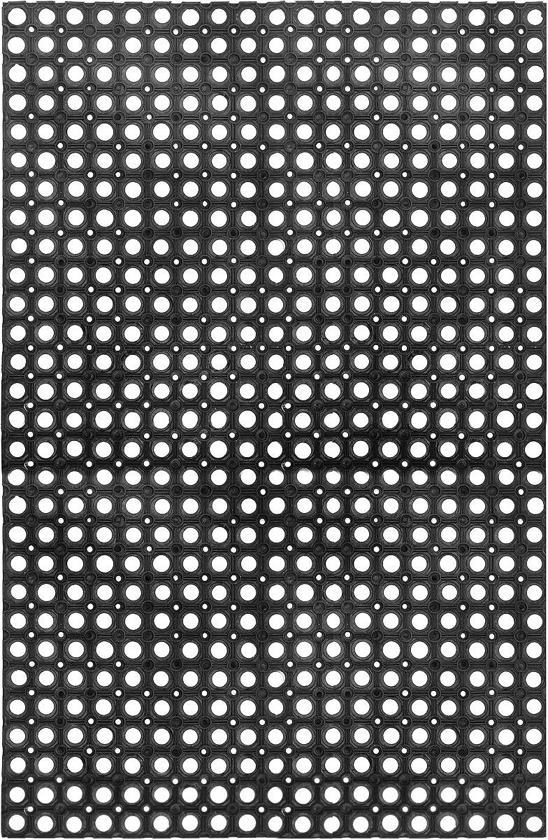 """Коврик придверный """"SunStep"""", грязесборный, цвет: черный, 120 х 80 х 2,2 см"""