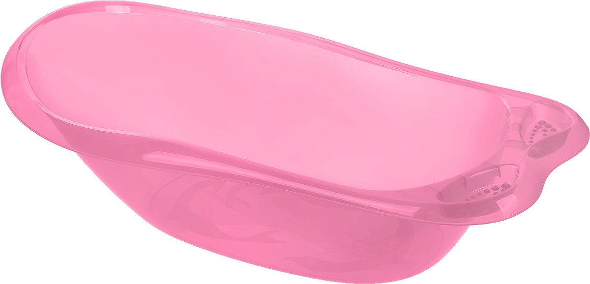 Idea Ванночка детская Океаник цвет розовый 86 см х 21 см х 52 смМ 2592_светло-розовыйВанночка детская Idea Океаник идеально подойдет для купания малыша. Она выполнена из прочного безопасного пластика без содержания токсичных элементов. Ванна оснащена удобными выемками для мыла и других принадлежностей.