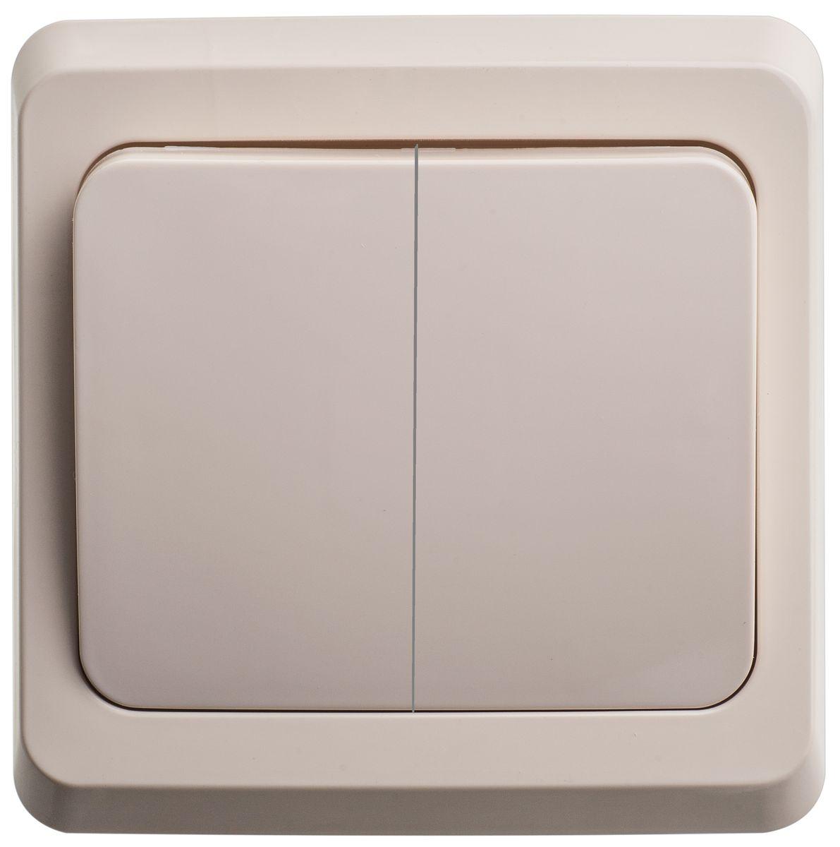 Выключатель Schneider Electric Этюд, двойной, цвет: белый. BC10-002BC10-002KДвухклавишный выключатель Schneider Electric Этюд предназначен для скрытой установки. Выполнен из высококачественного пластика. Изделие просто в установке, надежно в эксплуатации. Специальное покрытие не позволяет пыли собираться на поверхности. Такой выключатель станет удачным решением для дома и дачи. Функция выключателя: двухканальный. Тип контактов: 2 Н.О. Диапазон мощности: Номинальный ток: 250 В. Тип клемм: винтовые зажимы 2,5 мм2. Длина зачистки проводов: 11 мм. Степень защиты: IP20.