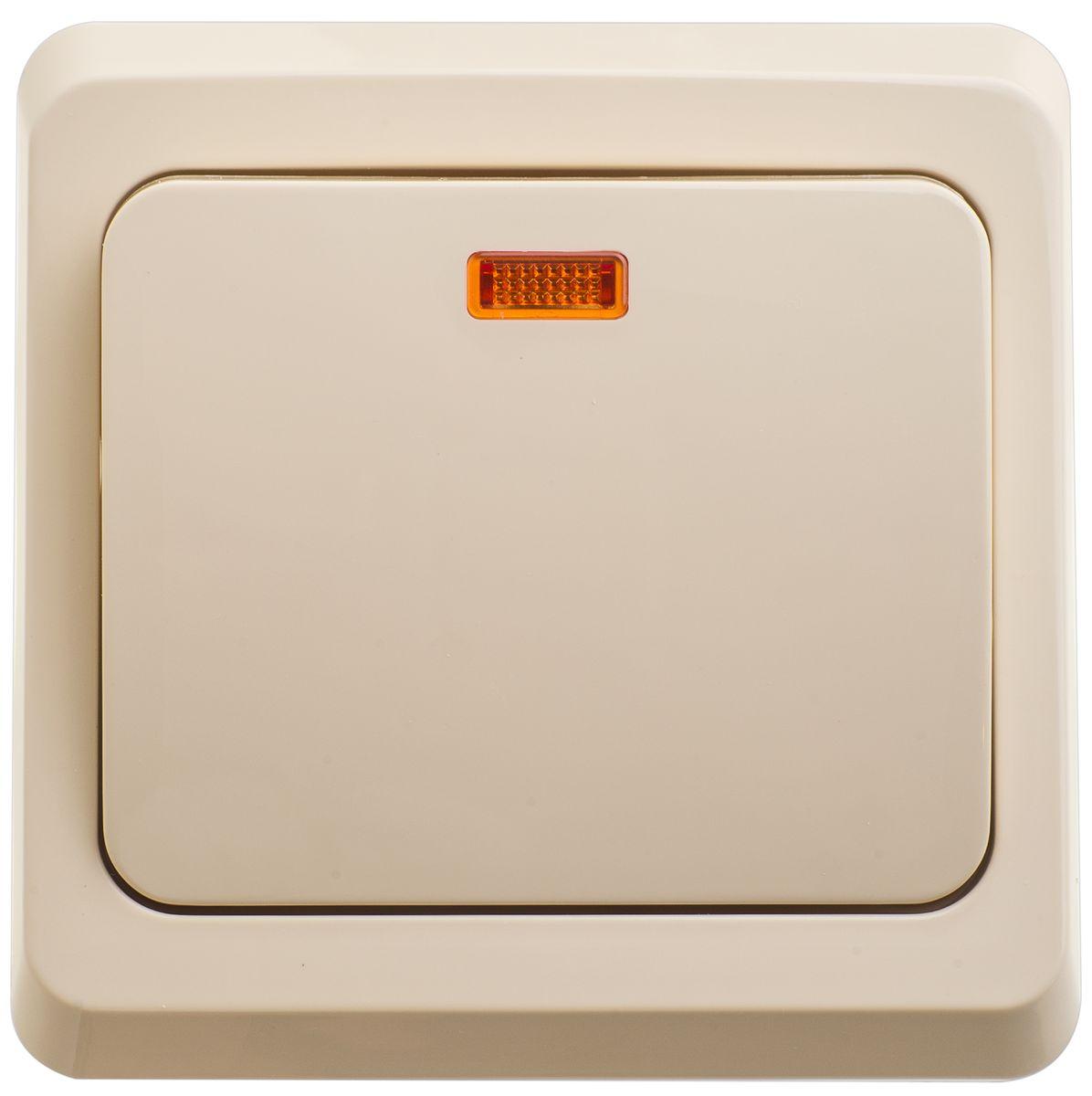 Выключатель Schneider Electric Этюд, с подсветкой, цвет: кремовый. BC10-005BC10-005KОдноклавишный выключатель Schneider Electric Этюд предназначен для скрытой установки. Выполнен из высококачественного пластика. Изделие просто в установке, надежно в эксплуатации. Световой индикатор позволит вам увидеть выключатель даже в темноте. Специальное покрытие не позволяет пыли собираться на поверхности. Такой выключатель станет удачным решением для дома и дачи. Функция выключателя: одноканальный. Тип контактов: 1 Н.О. Диапазон мощности: Номинальный ток: 250 В. Тип клемм: винтовые зажимы 2,5 мм2. Длина зачистки проводов: 11 мм. Степень защиты: IP20.