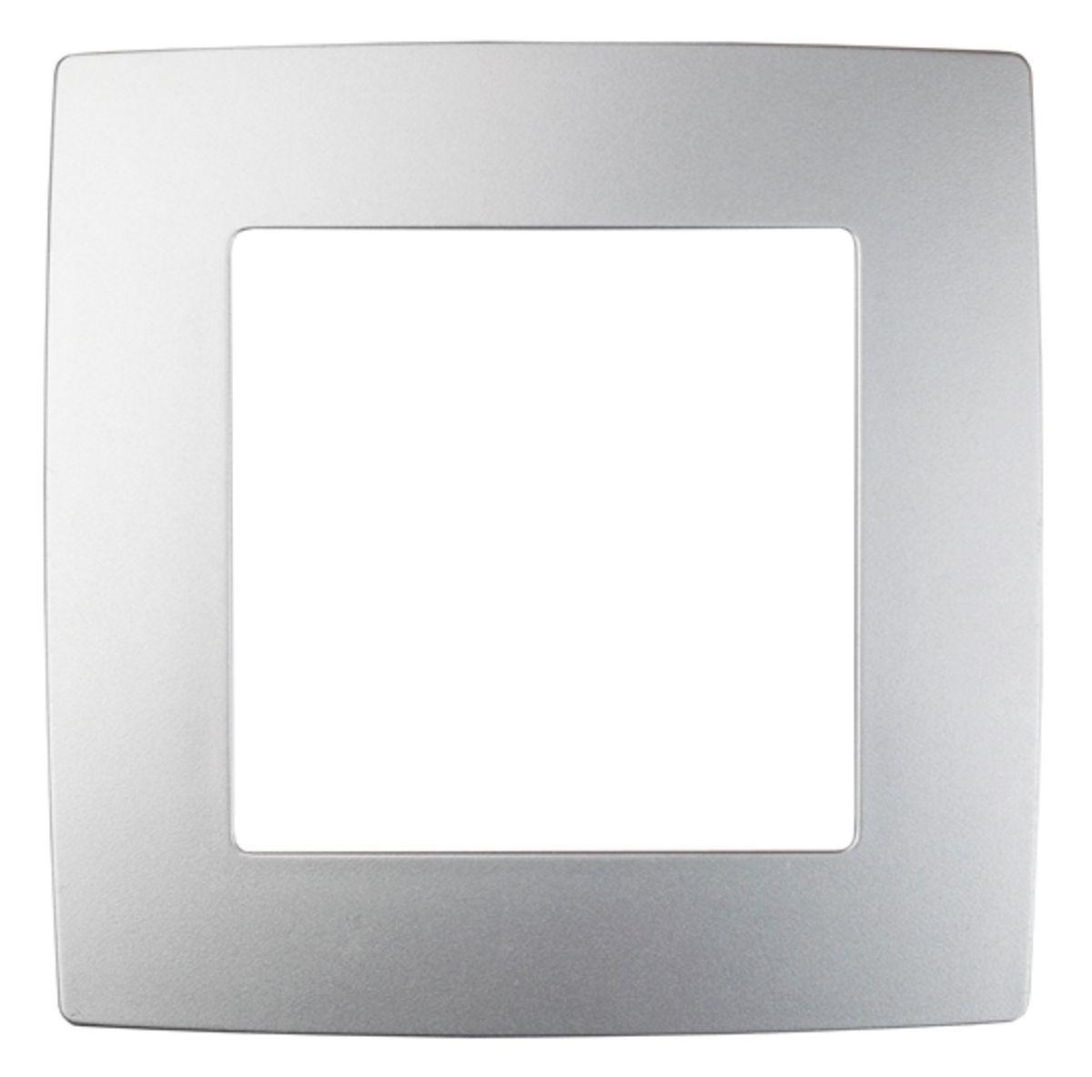 Рамка для встраиваемой розетки Эра, на 1 пост, цвет: алюминий12-5001-03Рамка Эра выполнена из пластика и используется для окантовки встраиваемой розетки. Рамка отвечает основным требованиям безопасности и удобства монтажа. Современный дизайн и элегантная цветовая гамма подойдут к любому интерьеру. Размер рамки: 8 х 8 х 1 см.