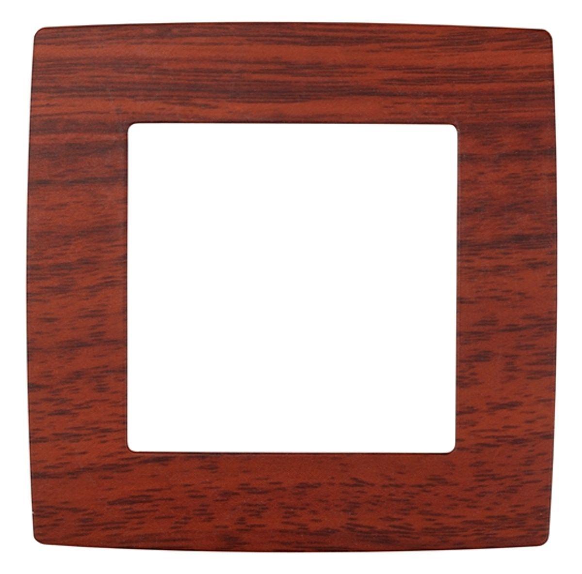 Рамка для встраиваемой розетки Эра, на 1 пост, цвет: вишня12-5001-08Рамка Эра выполнена из пластика и используется для окантовки встраиваемой розетки. Рамка отвечает основным требованиям безопасности и удобства монтажа. Современный дизайн и элегантная цветовая гамма подойдут к любому интерьеру. Размер рамки: 8 х 8 х 1 см.