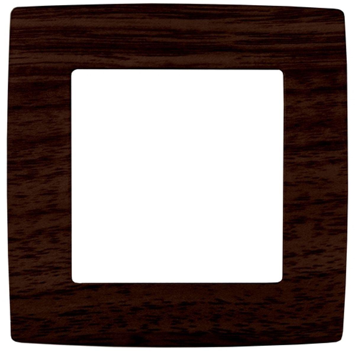 Рамка для встраиваемой розетки Эра, на 1 пост, цвет: венге12-5001-10Рамка Эра выполнена из пластика и используется для окантовки встраиваемой розетки. Рамка отвечает основным требованиям безопасности и удобства монтажа. Современный дизайн и элегантная цветовая гамма подойдут к любому интерьеру. Размер рамки: 8 х 8 х 1 см.