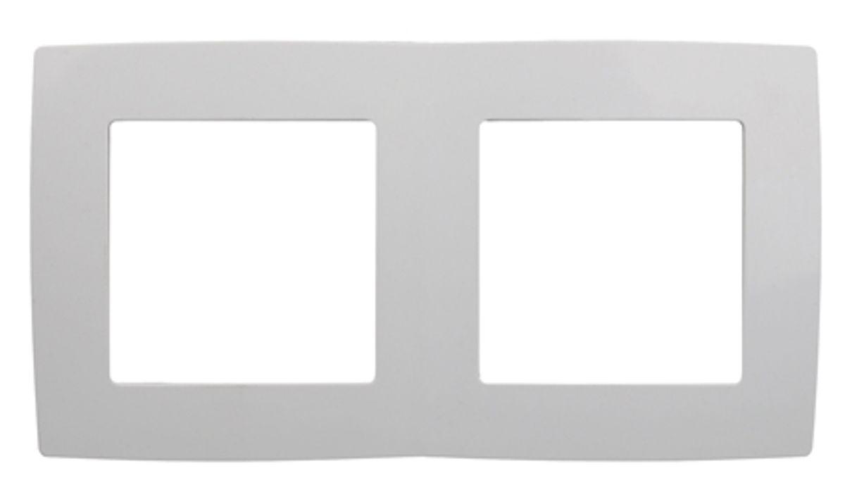 Рамка для встраиваемой розетки Эра, на 2 поста, горизонтальный и вертикальный монтаж, цвет: белый12-5002-01Рамка Эра выполнена из пластика и используется для окантовки встраиваемой розетки. Возможен как горизонтальный, так и вертикальный монтаж изделия. Рамка отвечает основным требованиям безопасности и удобства монтажа. Современный дизайн и элегантная цветовая гамма подойдут к любому интерьеру. Размер рамки: 15 х 8 х 1 см.