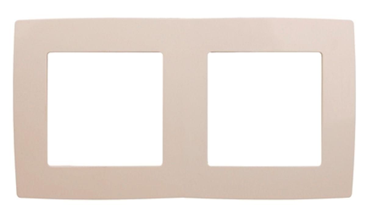 Рамка для встраиваемой розетки Эра, на 2 поста, горизонтальный и вертикальный монтаж, цвет: слоновая кость12-5002-02Рамка Эра выполнена из пластика и используется для окантовки встраиваемой розетки. Возможен как горизонтальный, так и вертикальный монтаж изделия. Рамка отвечает основным требованиям безопасности и удобства монтажа. Современный дизайн и элегантная цветовая гамма подойдут к любому интерьеру. Размер рамки: 15 х 8 х 1 см.