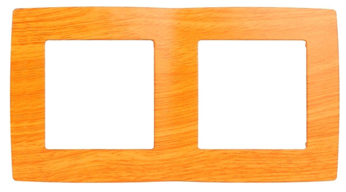 Рамка для встраиваемой розетки Эра, на 2 поста, горизонтальный и вертикальный монтаж, цвет: ольха12-5002-07Рамка Эра выполнена из пластика и используется для окантовки встраиваемой розетки. Возможен как горизонтальный, так и вертикальный монтаж изделия. Рамка отвечает основным требованиям безопасности и удобства монтажа. Современный дизайн и элегантная цветовая гамма подойдут к любому интерьеру. Размер рамки: 15 х 8 х 1 см.