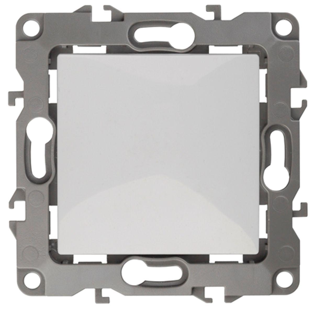 Переключатель ЭРА промежуточный, 10АХ-250В, Эра12, белый12-1108-01Автоматические зажимы. Такие зажимы кабеля обеспечивают быстрый и надежный монтаж изделия к электросети без отвертки и не требуют обслуживания в отличие от винтовых зажимов. Перекрестный