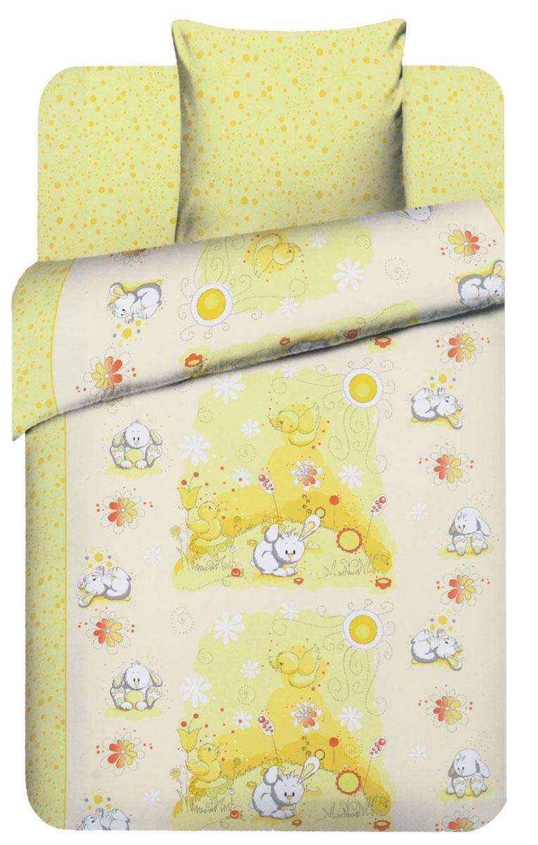 Василек Детское постельное белье Плюшевые зайки 1,5-спальный