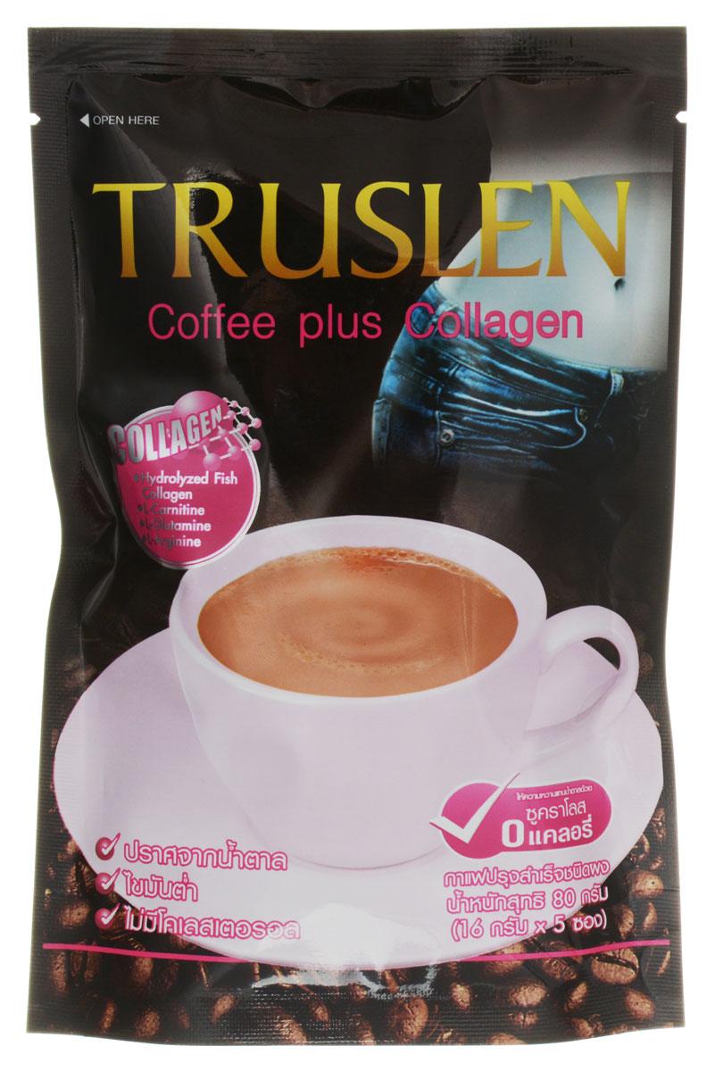 Тruslen Cofee Plus Collagen кофейный напиток в пакетиках, 5 шт