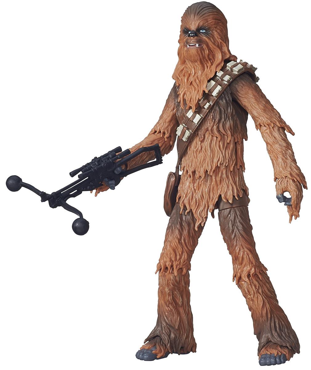 Star Wars Фигурка ЧубаккаB3834_B3839Фигурка Star Wars Чубакка обязательно порадует любого поклонника грандиозной космической саги Звездные войны. Игрушка изготовлена из материала высокого качества, подробно детализирована. Пожалуй, один из самых узнаваемых персонажей популярной саги - Чубакка, представитель расы Вуки, прошедший весь пусть сражения с Империей. Данная фигурка порадует своего обладателя вне зависимости от того, знаком ли он со знаменитой вселенной Star Wars или нет.