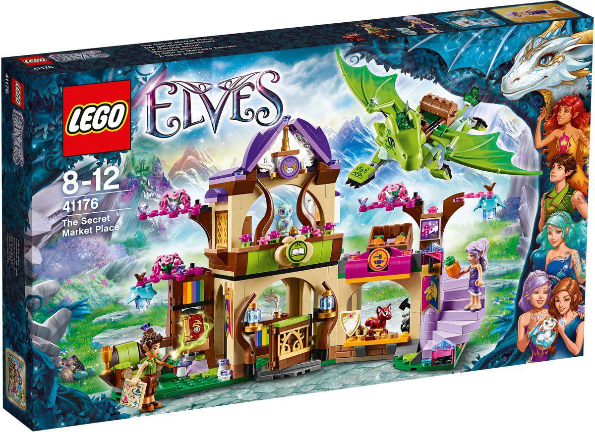 LEGO Elves Конструктор Секретный рынок 41176