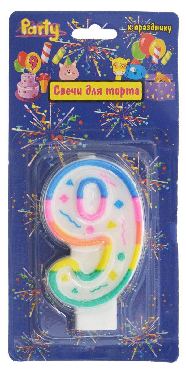 Action! Свеча-цифра для торта 9 летAPI0316-9Свеча-цифра для торта Action! выполнена в форме цифры 9 из белого парафина с разноцветным контуром по краям. Свеча-цифра создает неповторимую атмосферу праздника и прекрасно вписывается в любой интерьер. Свеча для торта - отличный способ порадовать любого человека.