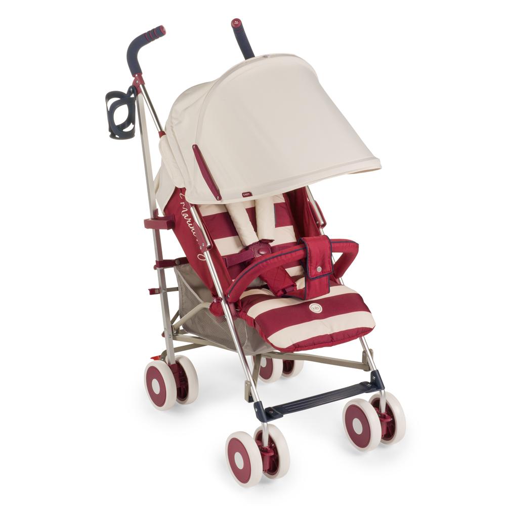 Happy Baby Коляска прогулочная Cindy Maroon4650069782452Коляска Cindy Maroon имеет оригинальный дизайн и высокую функциональность. Пятиточечные ремни имеют мягкие накладки, надежно и комфортно удерживая малыша в удобном для него положении. Козырек коляски можно при необходимости опустить низко, до самого бампера, что защитит ребенка от осадков и солнечного света. Модель комплектуется удобным дождевиком. Маневренность изделию придают поворотные колеса, а зафиксировать конструкцию в одном положении поможет расположенная на задних колесах тормозная система. Обивка является дышащей, что позволит малышу даже в изнуряющую жару чувствовать себя комфортно. Ткань мягкая и грязеотталкивающая, ее легко протирать обычными тряпками или губками. В сложенном виде коляска очень компактная и легкая, ее удобно взять с собой в любую поездку.