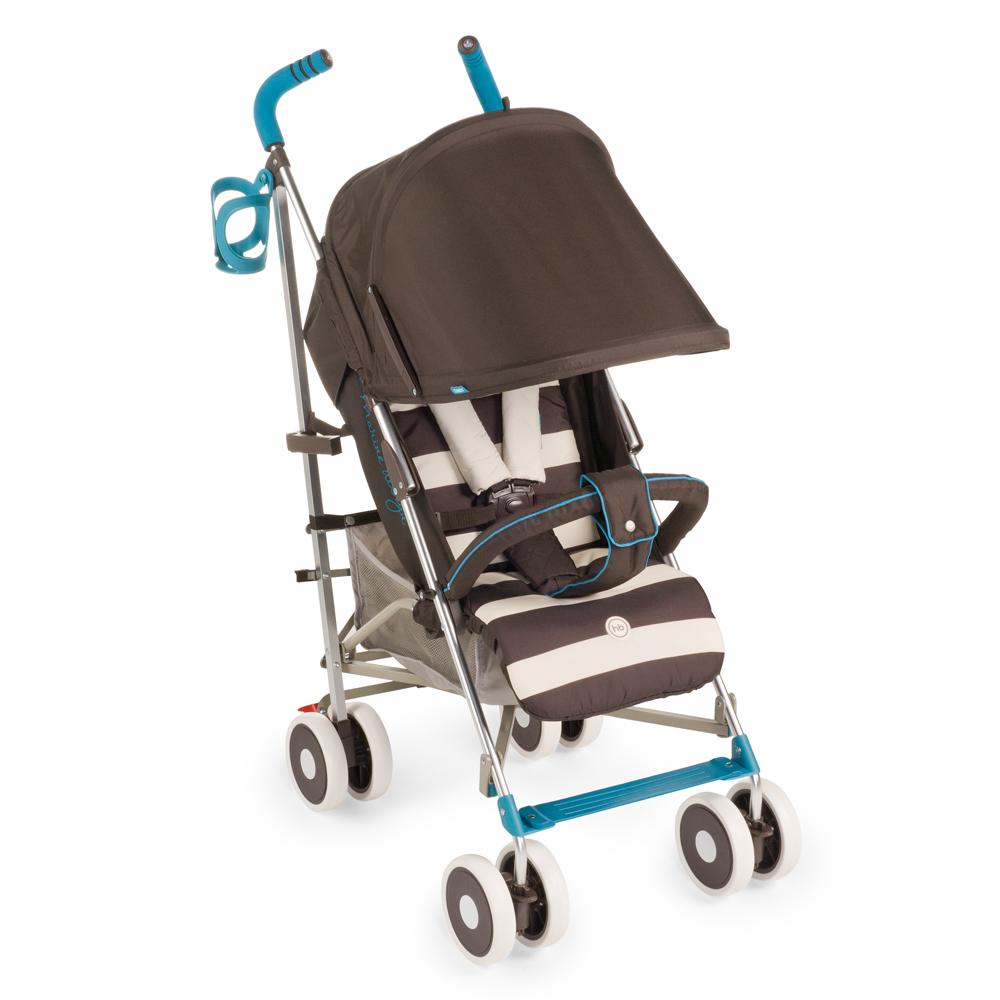 Happy Baby Коляска прогулочная Cindy цвет коричневый голубой4650069782476Коляска Happy Baby Cindy имеет оригинальный дизайн и высокую функциональность. Пятиточечные ремни имеют мягкие накладки, надежно и комфортно удерживая малыша в удобном для него положении. Козырек коляски можно при необходимости опустить низко, до самого бампера, что защитит ребенка от осадков и солнечного света. Модель комплектуется удобным дождевиком. Маневренность изделию придают поворотные колеса, а зафиксировать конструкцию в одном положении поможет расположенная на задних колесах тормозная система. Обивка является дышащей, что позволит малышу даже в изнуряющую жару чувствовать себя комфортно. Ткань мягкая и грязеотталкивающая, ее легко протирать обычными тряпками или губками. В сложенном виде коляска очень компактная и легкая, ее удобно взять с собой в любую поездку.