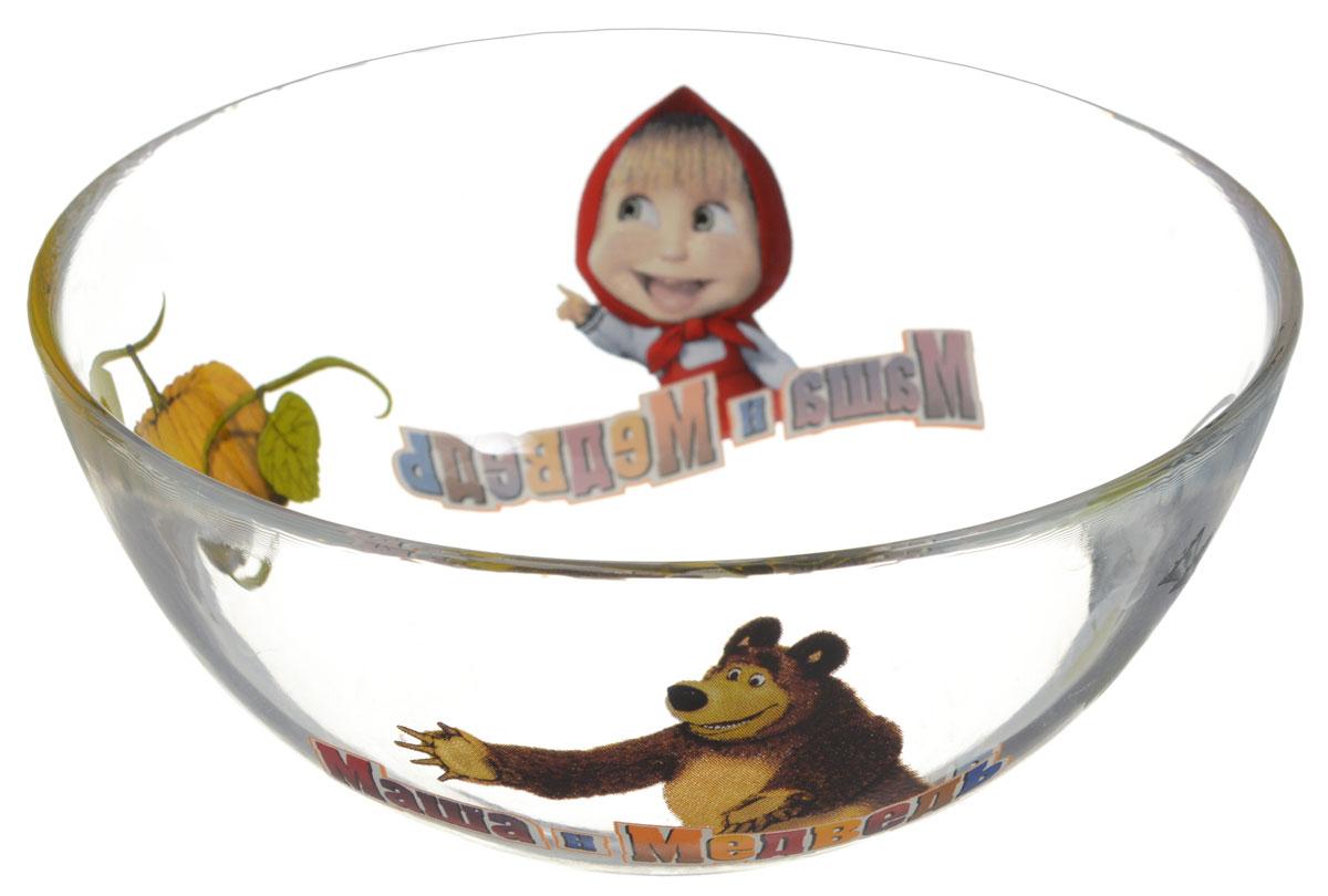 Маша и Медведь Салатник детский Огород диаметр 13 см10341Яркий салатник Маша и Медведь Огород идеально подойдет для кормления малыша и самостоятельного приема им пищи. Салатник выполнен из стекла и оформлен высококачественным изображением героев мультсериала Маша и Медведь. Такой подарок станет не только приятным, но и практичным сувениром, добавит ярких эмоций вашему ребенку! Можно использовать в посудомоечной машине.