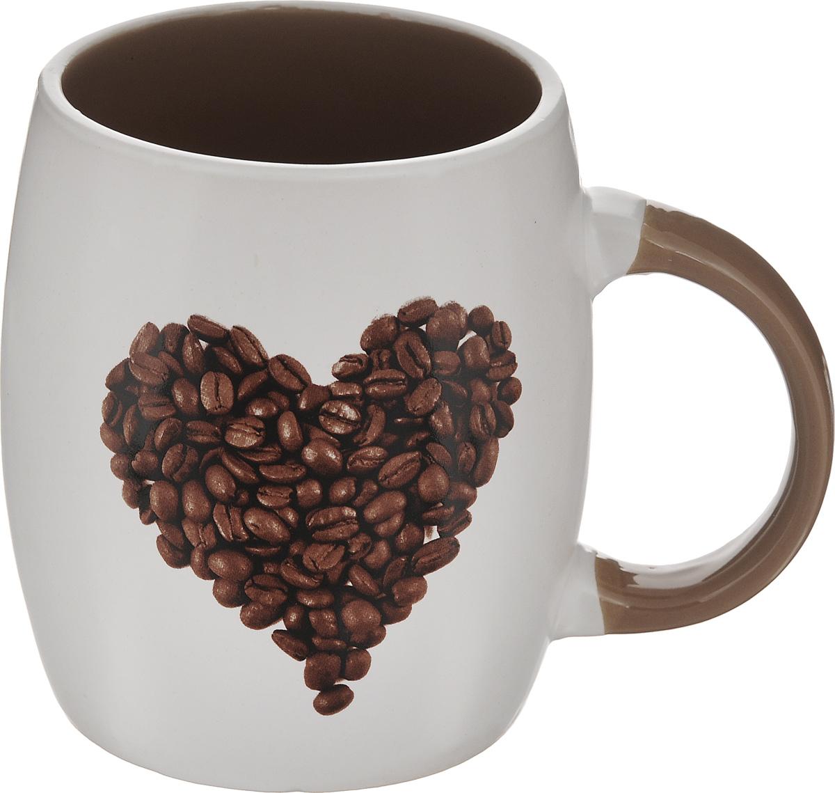 Кружка Walmer I Love Coffee, 380 млW09220038Кружка Walmer I Love Coffee изготовлена из высококачественного фарфора. Такая кружка прекрасно оформит стол к чаепитию и станет его неизменным атрибутом. Не рекомендуется применять абразивные моющие средства. Диаметр (по верхнему краю): 8 см. Высота: 10,5 см.