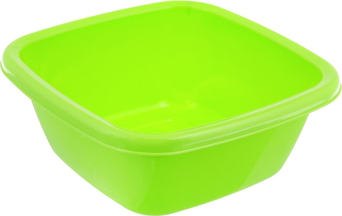 Таз Dunya Plastik, цвет: салатовый, 4 л. 1011610116_салатовыйКвадратный таз Dunya Plastik, выполненный из высококачественного пластика, предназначен для хранения разных вещей и бытовых мелочей. По бокам имеются специальные углубления, которые обеспечивают удобный захват. Такой таз пригодится в любом хозяйстве.