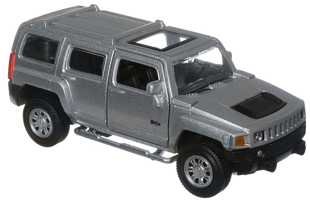 ТехноПарк Модель автомобиля Hummer H3 цвет серебристый