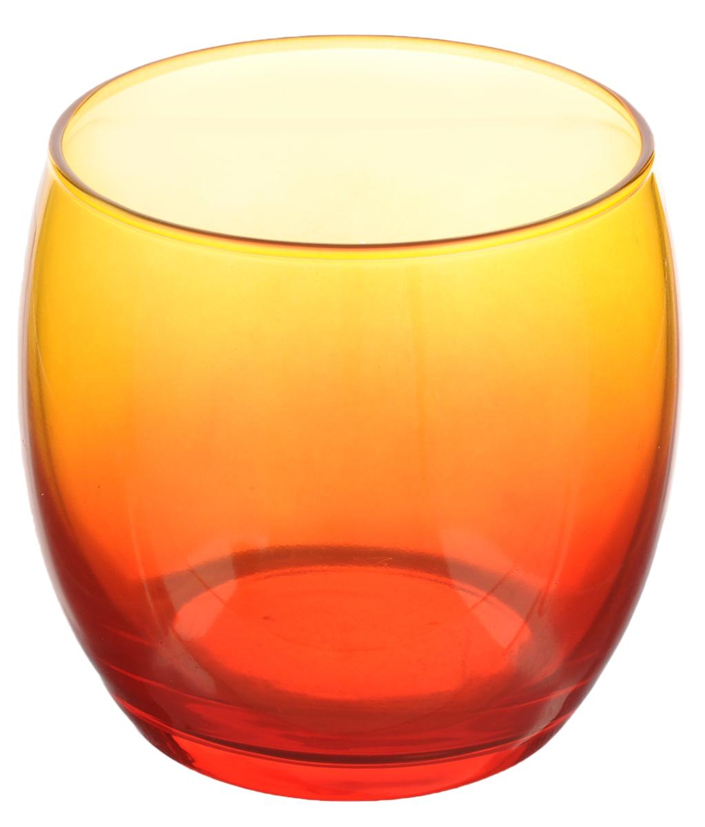 Стакан Luminarc Duos Red Orange, 340 млH8359Стакан Luminarc Duos Red Orange изготовлен из высококачественного стекла. Такой стакан прекрасно подойдет для горячих и холодных напитков. Он дополнит коллекцию вашей кухонной посуды и будет служить долгие годы. Диаметр стакана (по верхнему краю): 8 см. Высота: 8,5 см.