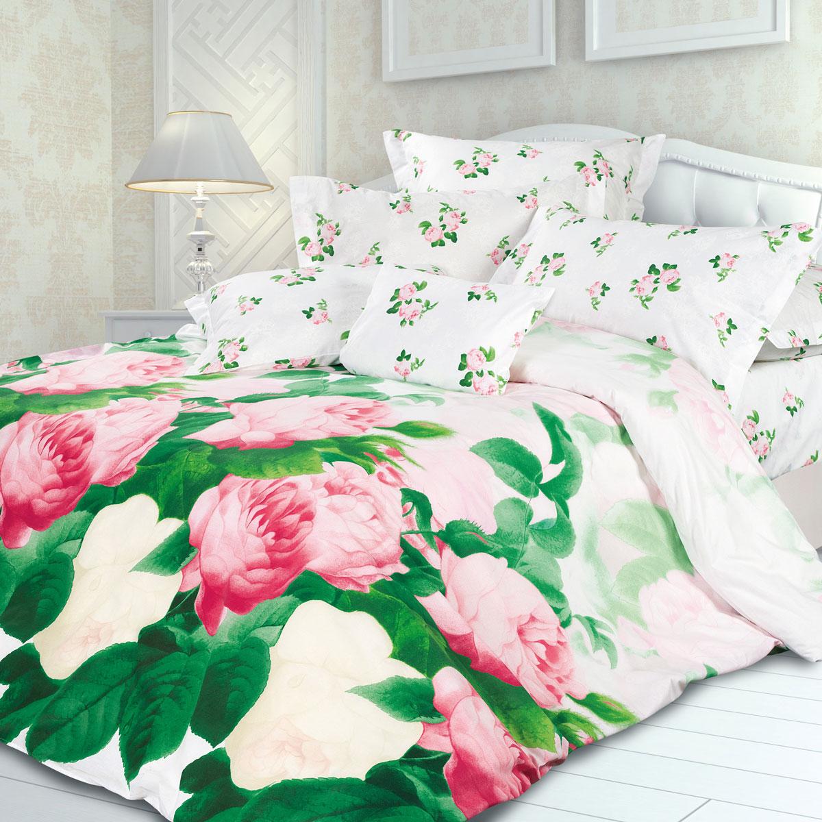 Комплект белья Унисон Розалинда, 2-х спальное, наволочки 70 х 70, цвет: белый. 291399291399Постельное белье торговой марки «Унисон Биоматин» - это домашний текстиль премиум класса с эксклюзивными дизайнами в разнообразных стилистических решениях. Комплекты данной серии выполнены из ткани «биоматин» - это 100% хлопок высочайшего качества, мягкий, тонкий и легкий, но при этом прочный, долговечный и очень практичный, с повышенным показателем износостойкости, обладающий грязе- и пылеотталкивающими свойствами, долго сохраняющий чистоту и свежесть постельного белья, гипоаллергенный.