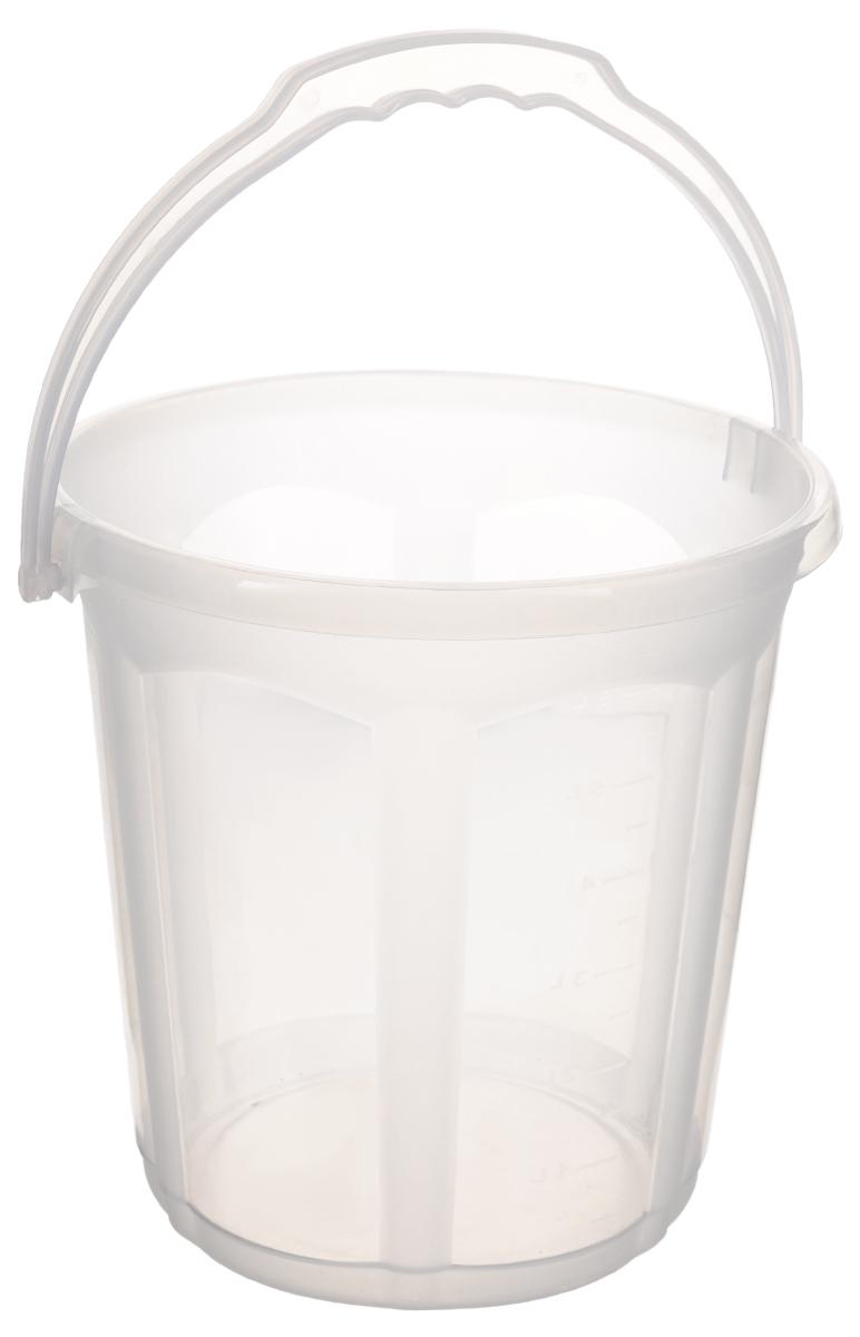 Ведро Dunya Plastik Стиль, цвет: прозрачный, 7 л9112_прозрачныйВедро Dunya Plastik Стиль, изготовленное из прочного пластика, оснащено эргономичной ручкой. Оно легче железного и не подвержено коррозии. Такое ведро прекрасно подойдет для различных хозяйственных нужд: для уборки или хранения мусора. Диаметр ведра (по верхнему краю): 23,5 см. Высота ведра: 24 см.