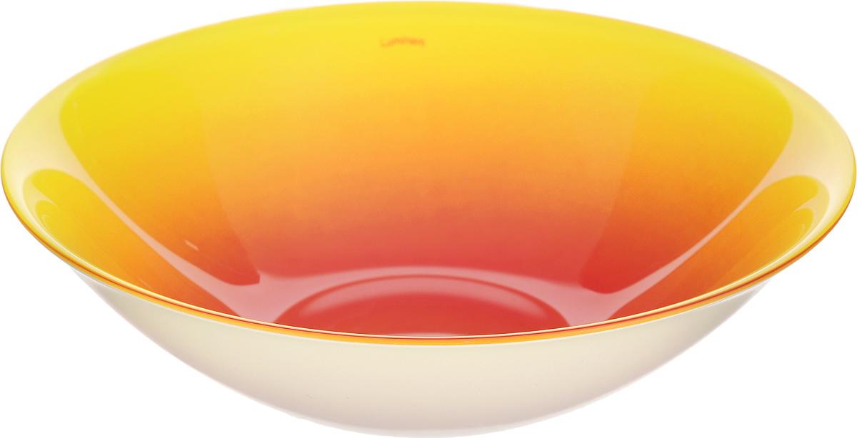 Миска Luminarc Fizz Lemon, диаметр 16 смG9560Миска Luminarc Fizz Lemon выполнена из высококачественного стекла. Изделие сочетает в себе изысканный дизайн с максимальной функциональностью. Она прекрасно впишется в интерьер вашей кухни и станет достойным дополнением к кухонному инвентарю. Миска Luminarc Fizz Lemon подчеркнет прекрасный вкус хозяйки и станет отличным подарком. Диаметр миски (по верхнему краю): 16 см. Высота миски: 4,5 см.