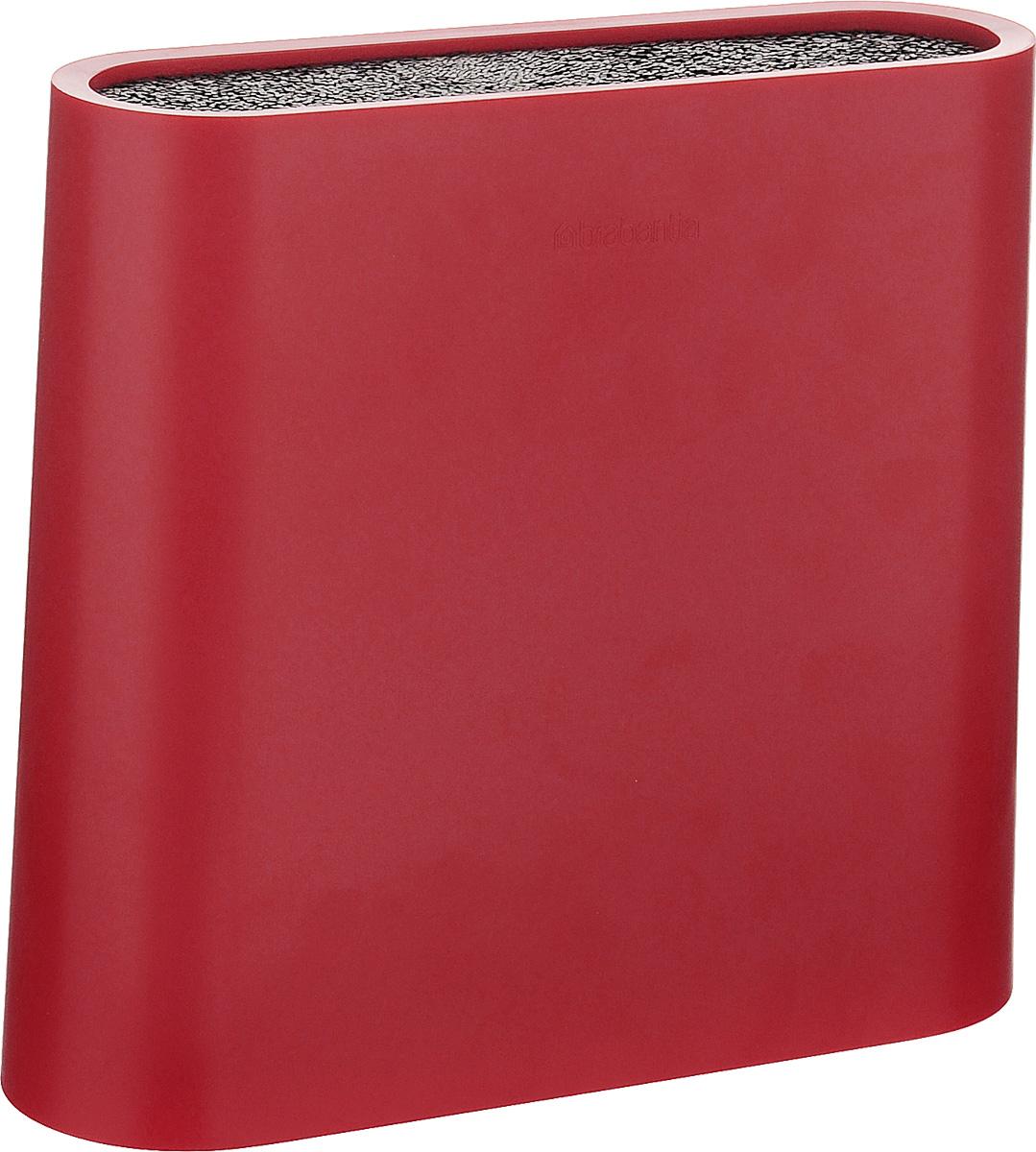 Подставка для ножей Brabantia, высота 21 см108129Подставка Brabantia - идеальное решение для безопасного и компактного хранения ножей. Корпус изделия выполнен из высококачественного пластика и снабжен вынимаемыми стержнями из пищевого полипропилена, благодаря которым ножи можно размещать в любом месте подставки. Изделие подходит для металлических и керамических ножей. Вы также можете комбинировать ножи из разных наборов. Не использовать в посудомоечной машине. Не использовать абразивные моющие средства. Размер подставки: 23 х 6,2 х 21 см. Длина стержней: 20,5 см.