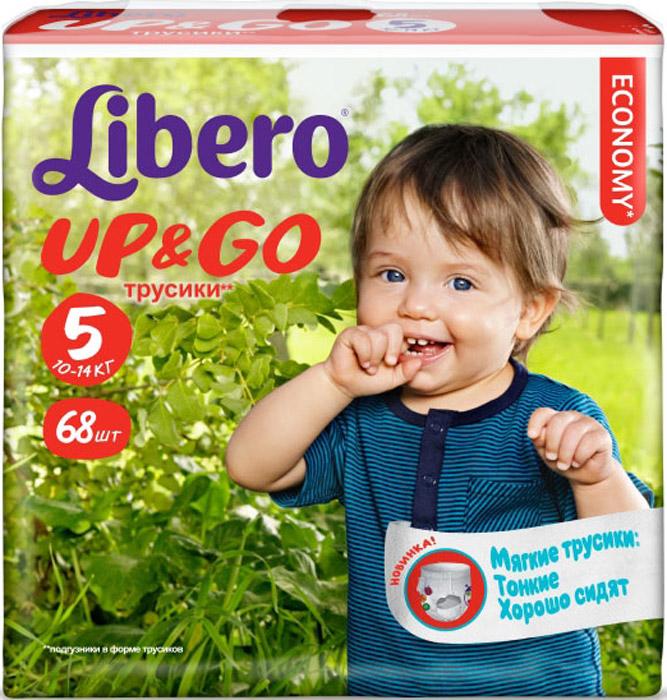 Libero Подгузники-трусики Up&Go (10-14 кг) 68 шт