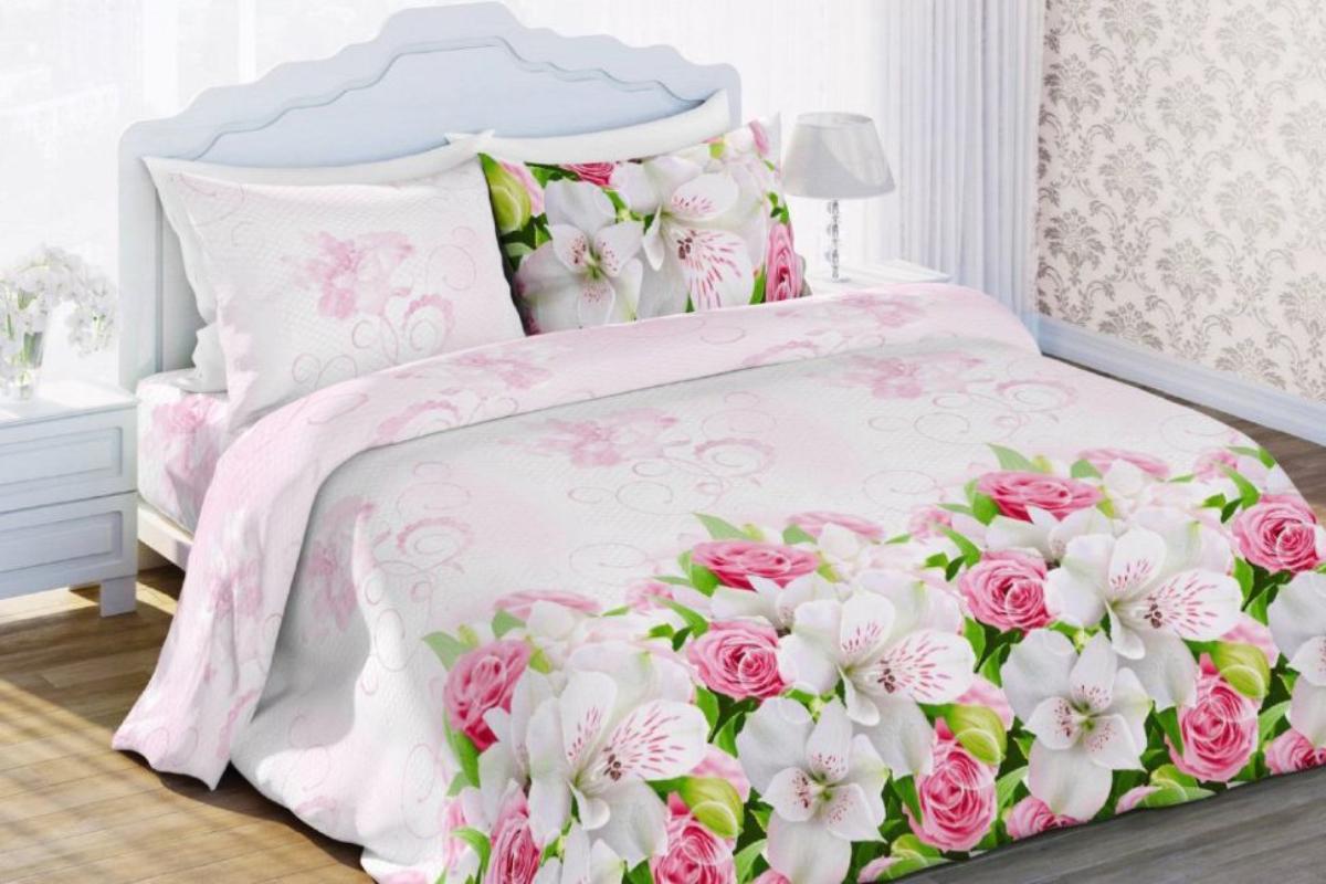 Комплект белья Любимый дом Нежный сон, 2-х спальное, наволочки 50 х 70, цвет: розовый. 323884323884Постельное белье торговой марки «Любимый дом» - это идеальное сочетание доступной цены и высокого качества продукции. Серия «Любимый дом 3D» выполнена в технике объемного трехмерного изображения: объемные рисунки очень яркие, насыщенные и реалистичные. Коллекция выполнена из традиционной отечественной бязи с высоким показателем износостойкости: такое постельное белье очень прочное и долговечное, не деформируется при стирках и прослужит долгие годы.