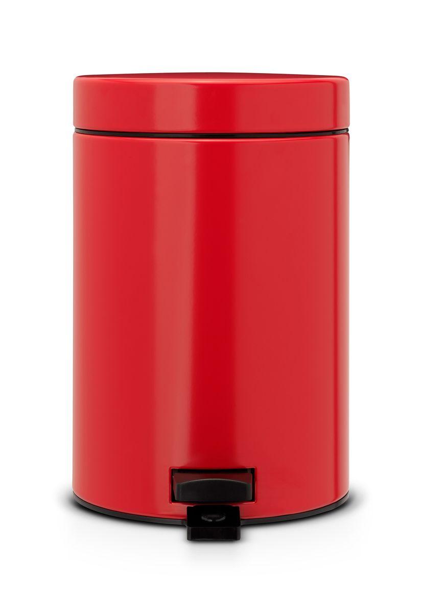 Ведро для мусора Brabantia, с педалью, 3 л105944Прочная не пропускающая запахи бесшумная металлическая крышка; Удобная очистка – прочное съемное внутреннее ведро из пластика; Надежный педальный механизм, высококачественные коррозионно-стойкие материалы; Всегда опрятный вид - идеально подходящие по размеру мешки для мусора с завязками (размер А); Отличная устойчивость даже на мокром и скользком полу – противоскользящее основание; Предохранение пола от повреждений - пластиковый защитный обод; 10-летняя гарантия Brabantia. Объем: 3 л. Диаметр: 17 см. Высота: 25,5 см. Ширина: 17 см. Толщина: 23,5 см.