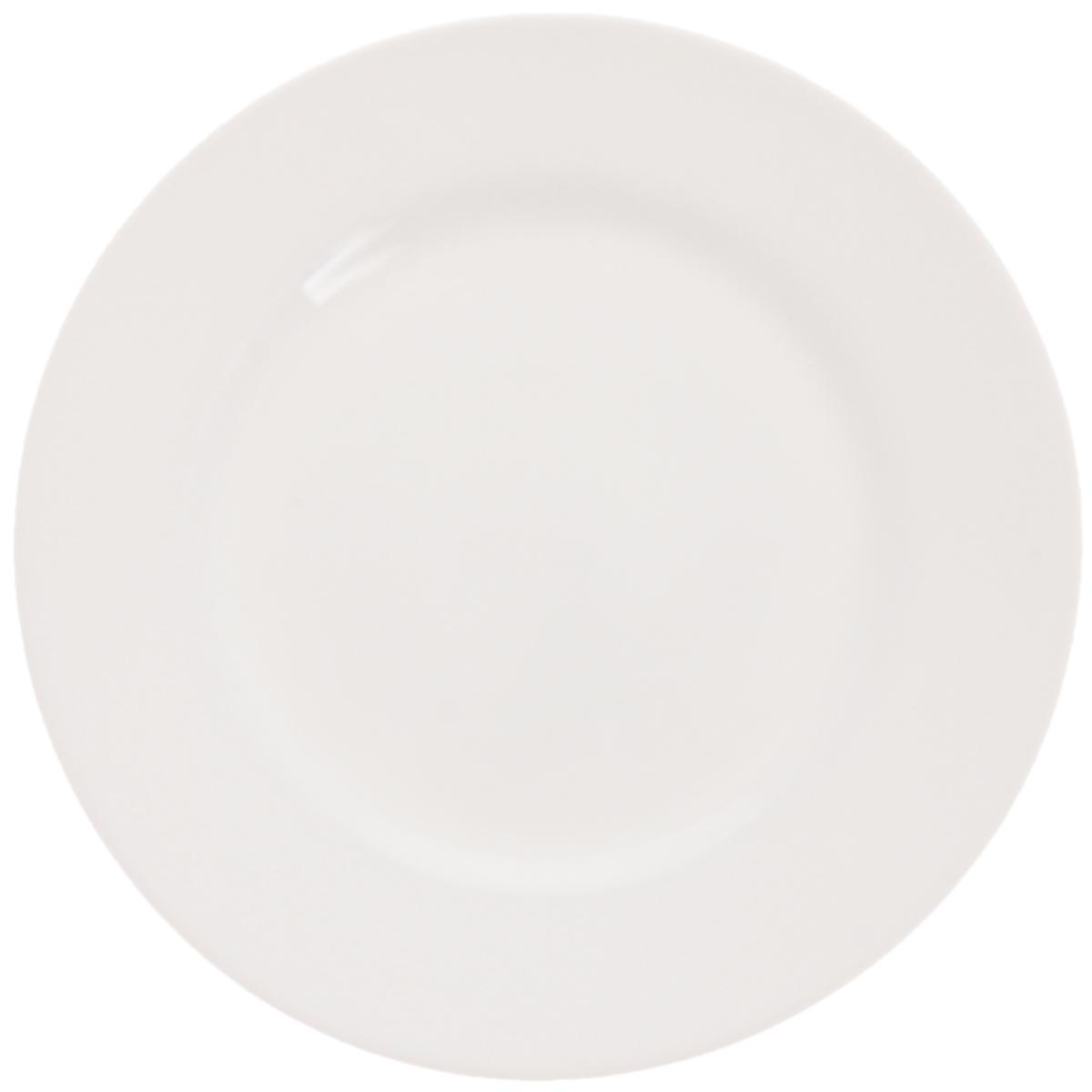 Тарелка десертная Luminarc Everyday, диаметр 19 смG0Десертная тарелка Luminarc Everyday выполнена из ударопрочного стекла. Дизайн придется по вкусу и ценителям классики, и тем, кто предпочитает утонченность и изысканность. Изделие идеально подойдет для сервировки стола и станет отличным подарком к любому празднику. Можно использовать в СВЧ-печи и мыть в посудомоечной машине. Диаметр (по верхнему краю): 19 см.
