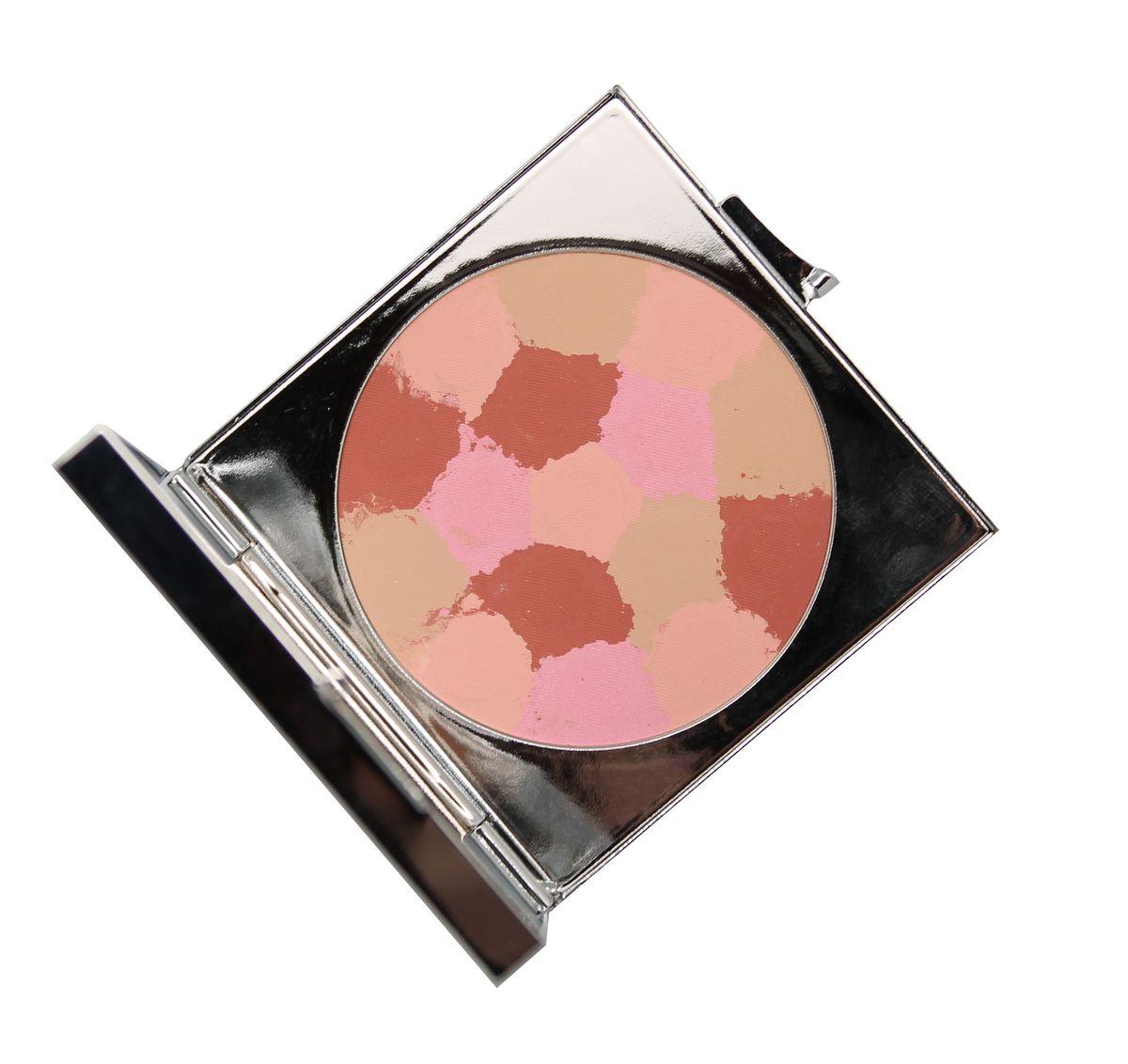 Yllozure Румяна Muiti Colour, тон 22, 10 г3822Cмешение четырех оттенков позволяет получить разные эффекты от макияжа. Румяна состоят из матовых и перламутровых оттенков с корректирующими и светоусиливающими свойствами, придают сияние коже любого типа: розовый освежает цвет лица, сиреневый нейтрализует любые несовершенства кожи желтого и коричневого оттенков: веснушки, пигментные и родимые пятна. Белый придает яркость, лиловый улавливает свет, золотистый и перламутровый придают коже