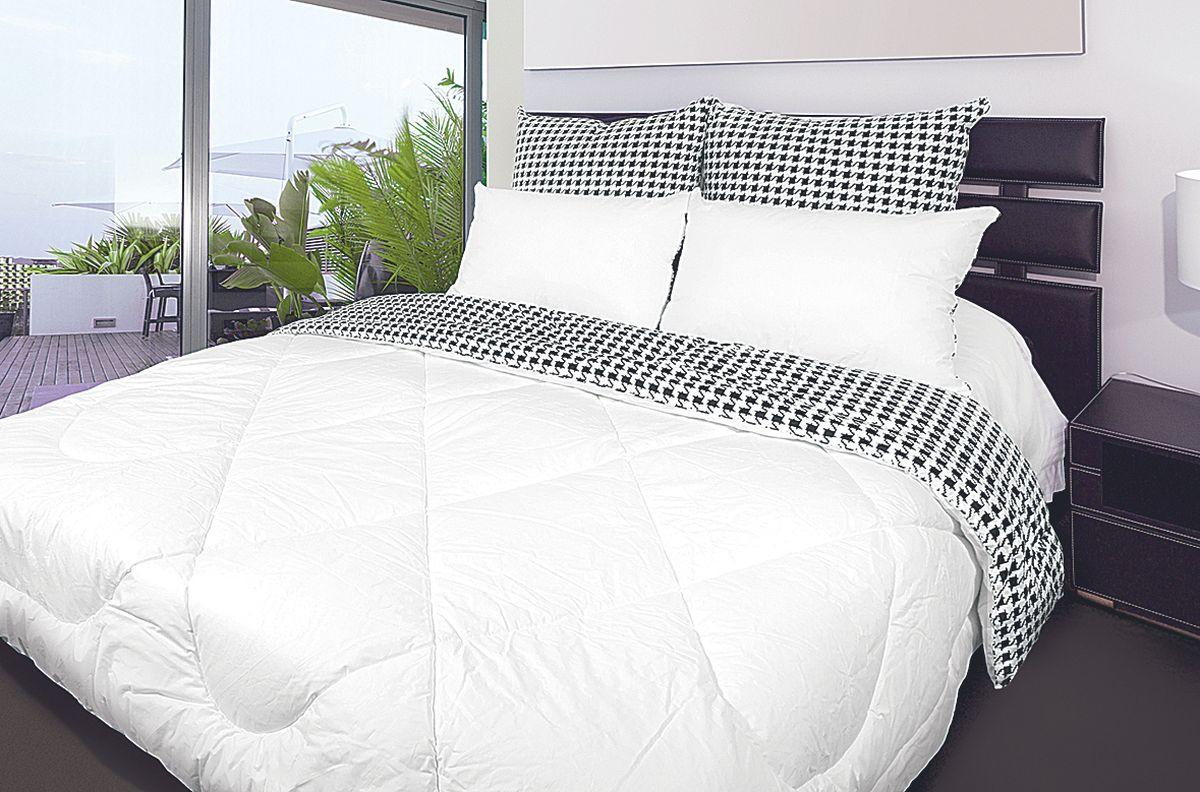 Одеяло Fashion Fantasy, цвет: черный, белый, 200 х 220 см183377
