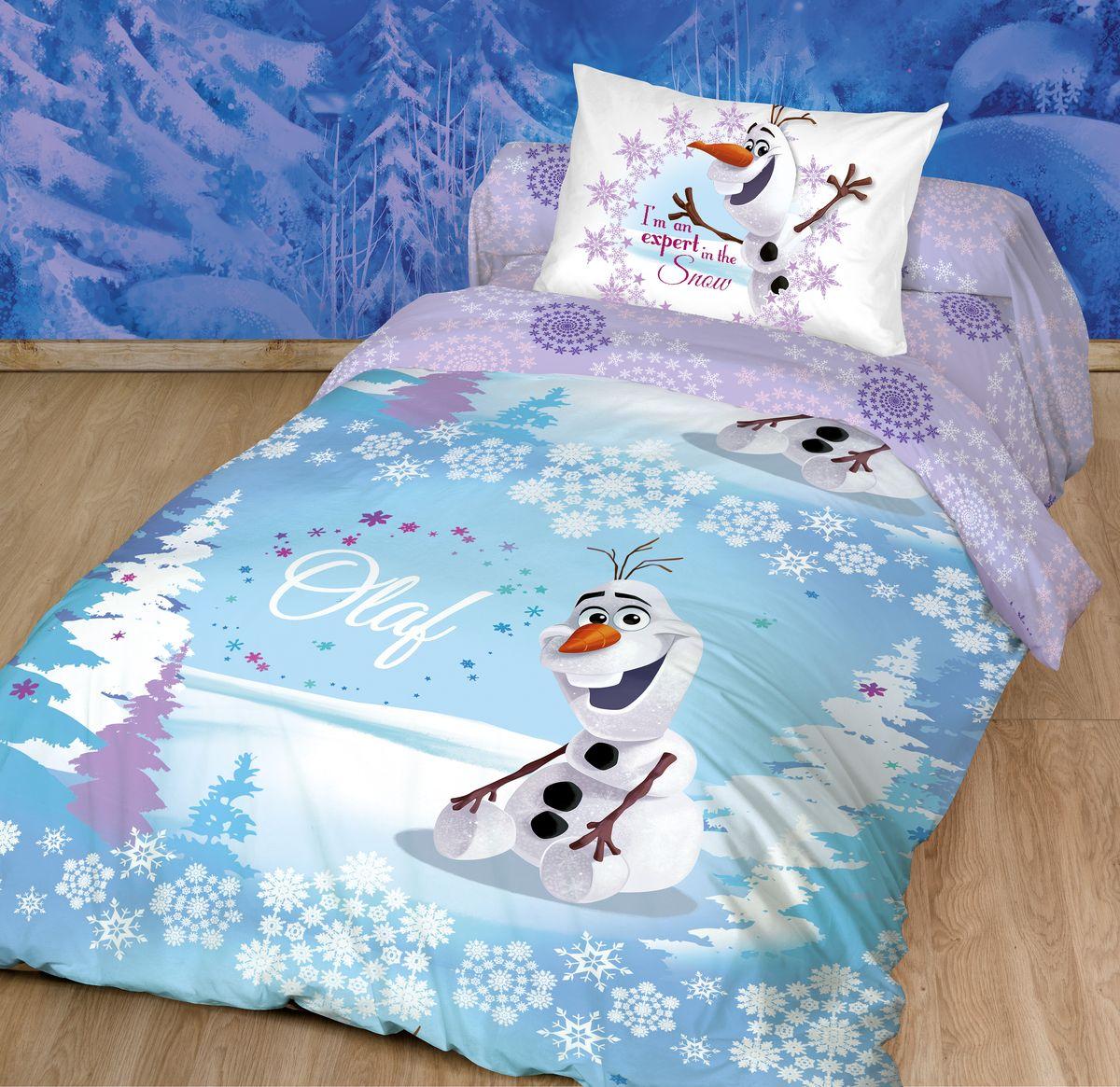 Комплект белья Disney, 1,5-спальный, наволочки 70 х 70. 186496186496