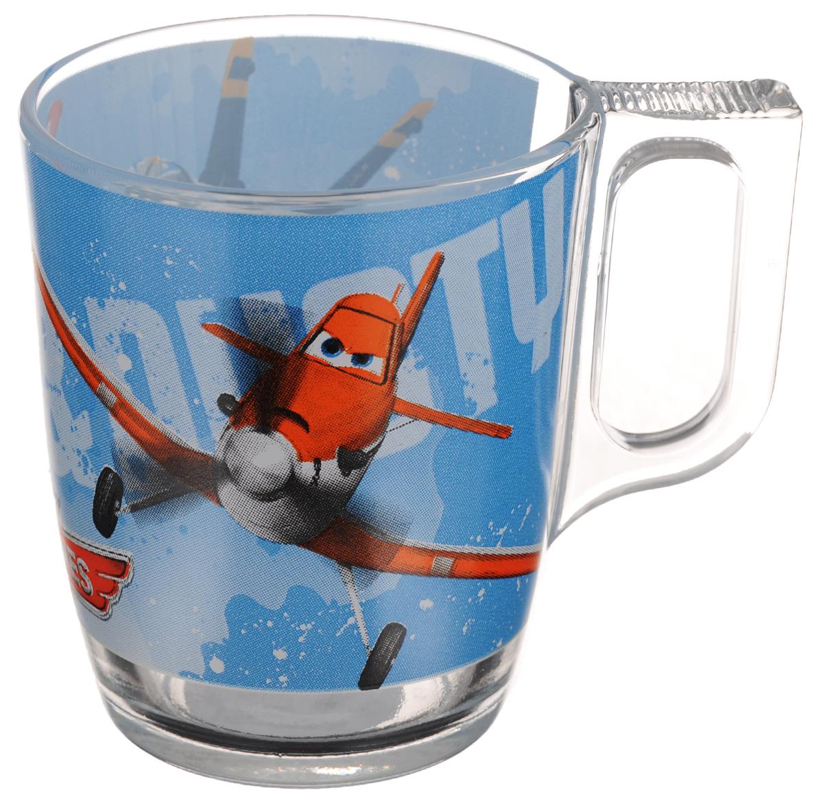 Кружка Luminarc Disney Planes, 250 млJ0800Кружка Luminarc Disney Planes, выполненная из высококачественного стекла, декорирована ярким изображением и предназначена для подачи горячих и холодных напитков. Такая кружка украсит ваш кухонный стол и станет идеальным подарком к любому празднику. Диаметр кружки (по верхнему краю): 7,5 см.