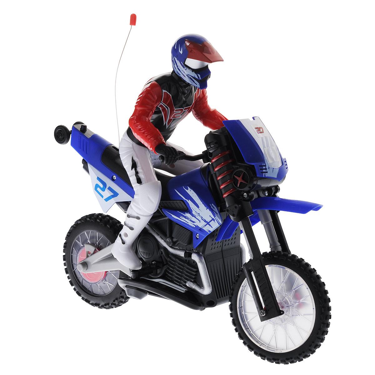 1TOY Мотоцикл на радиоуправлении Gyro-Moto
