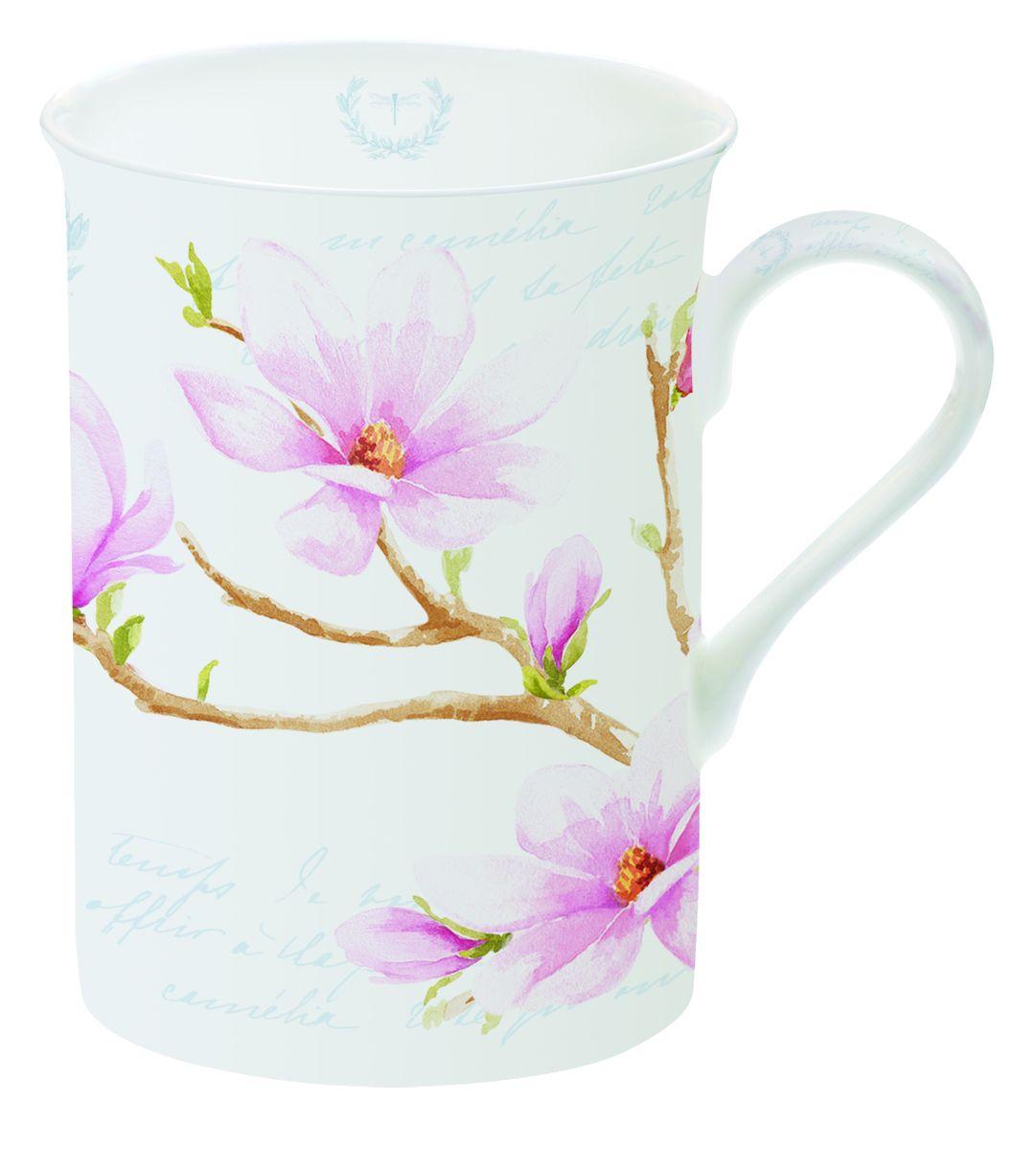 Кружка Nuova R2S Розовая магнолия, 250 мл329MAGNКружка Nuova R2S Розовая магнолия изготовлена из высококачественного фарфора. Внешние стенки изделия оформлены красочным рисунком магнолии. Такая кружка станет неизменным атрибутом домашнего чаепития, а пить любимый напиток из нее будет еще приятнее.