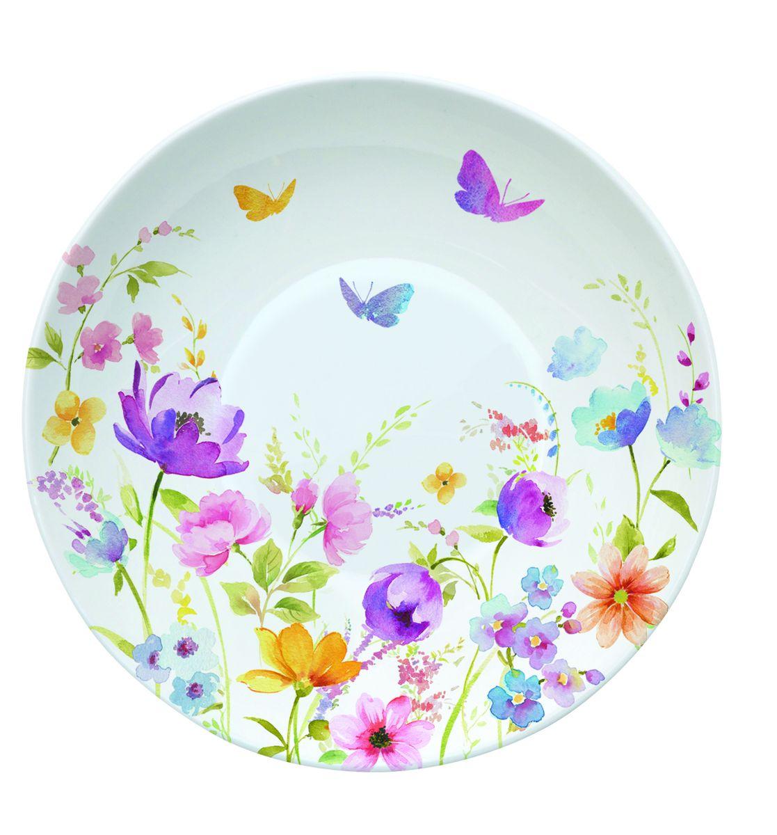 Блюдце Nuova R2S Полевые цветы, диаметр 10 см338FLDCБлюдце Nuova R2S Полевые цветы выполнено из высококачественного фарфора. Изделие оформлено цветочным рисунком. Изящное блюдце не только красиво оформит стол к чаепитию, но и станет прекрасным подарком друзьям и близким. Диаметр блюдца: 10 см.