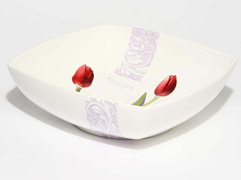 Салатник Nuova R2S Тюльпаны, 24 х 24 см79136Оригинальный салатник Nuova R2S Тюльпаны, изготовленный из высококачественной керамики, сочетает в себе изысканный дизайн с максимальной функциональностью. Он идеально подходит для сервировки стола и подачи закусок, солений и других блюд. Такой салатник прекрасно впишется в интерьер вашей кухни и станет достойным подарком к любому празднику. Размер салатника (по верхнему краю): 24 х 24 см. Высота: 9 см.