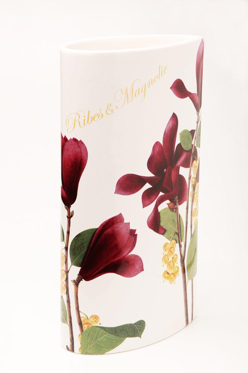 Ваза Ceramiche Viva Магнолия, высота 30 см85175Изящная ваза Ceramiche Viva Магнолия изготовлена из керамики и оформлена цветочным рисунком. Изделие сочетает в себе оригинальный дизайн с максимальной функциональностью. Ваза Ceramiche Viva Магнолия дополнит интерьер офиса или дома и станет желанным подарком для ваших близких. Диаметр вазы по верхнему краю: 16 см. Высота вазы: 30 см.