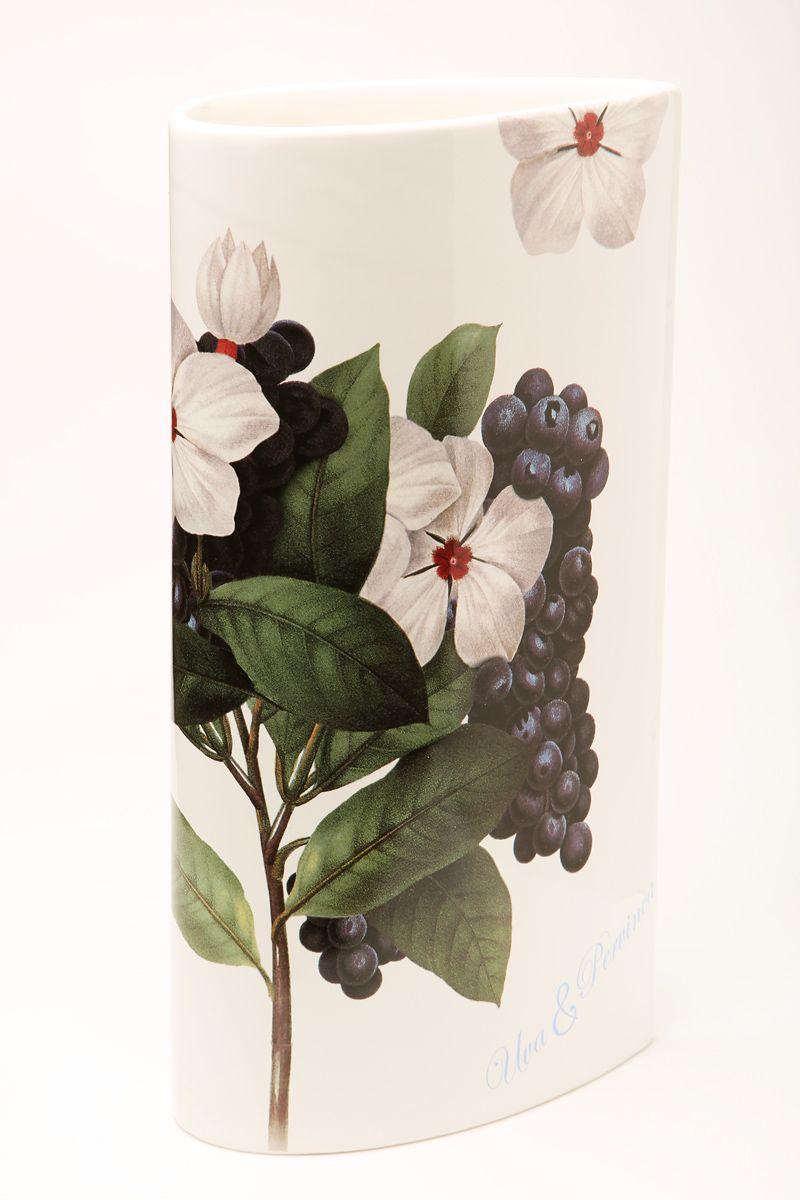 Ваза Ceramiche Viva Нежность, высота 30 см. 8617586175Изящная ваза Ceramiche Viva Нежность изготовлена из керамики и оформлена цветочным рисунком. Изделие сочетает в себе оригинальный дизайн с максимальной функциональностью. Ваза Ceramiche Viva Нежность дополнит интерьер офиса или дома и станет желанным подарком для ваших близких. Диаметр вазы по верхнему краю: 16 см. Высота вазы: 30 с