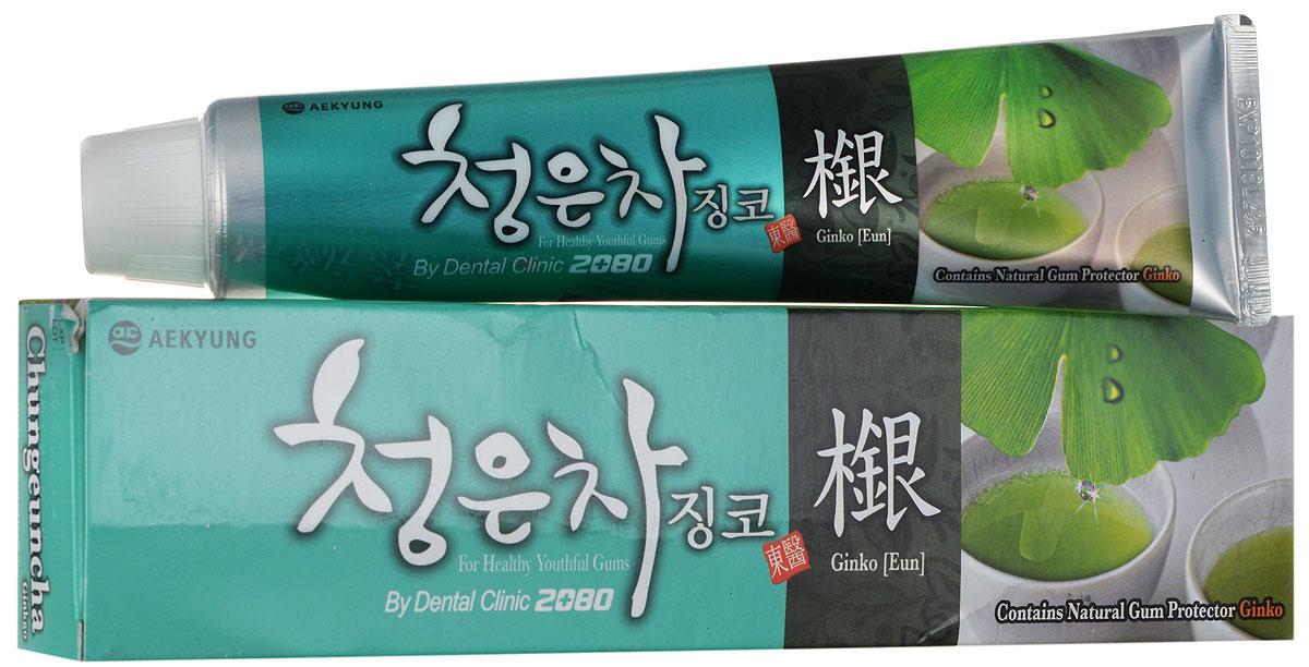 DC 2080 Зубная паста Восточный чай с гинкго, 130 г891964Зубная паста на основе экологически чистых экстрактов лечебных трав. Содержит комплекс восточных чаев (пуэр, кукурузный, гранатовый, солодковый), экстракт зеленых листьев гинкго, соли и витамин В5 для поддержания здоровья и молодости десен. Все зубные пасты серии Восточный чай имеют приятный освежающий вкус и аромат. Не является лекарством.