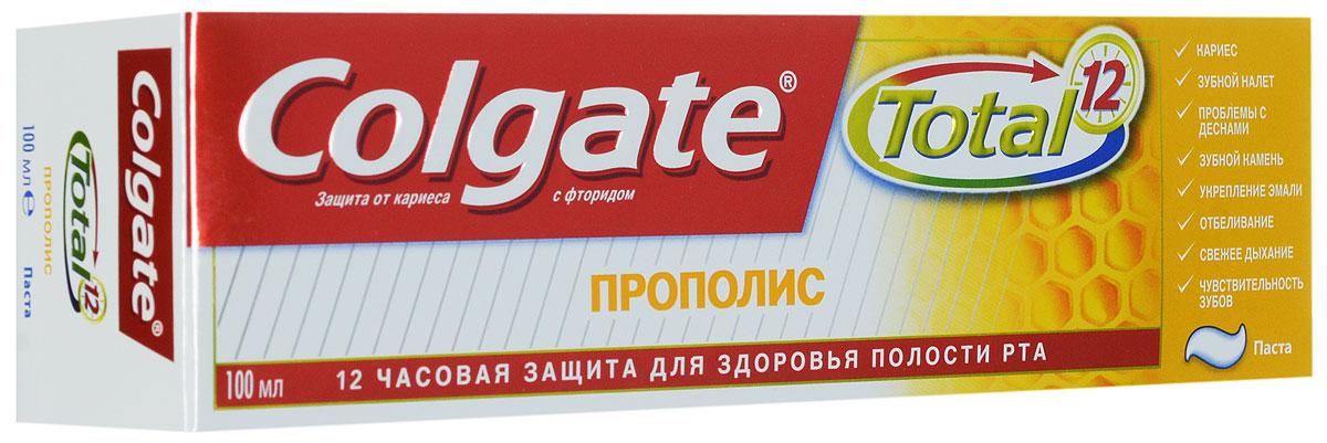 Colgate Зубная паста TOTAL12 Прополис 100 млFCN89259/FCN89133Зубная паста Colgate® Total Прополис содержит Прополис, известный своими лечебными свойствами и помогает сохранить ваши зубы и десны здоровыми.