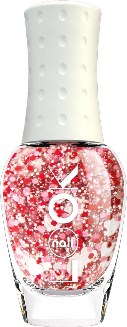 nailLOOK Лак для ногтей Trends Miracle Top розовый с крупным глиттером(сердечки)30688Miracle Top - коллекция верхних покрытий с разными яркими эффектами. Верхнее покрытие с крупным глиттером ( сердечки)